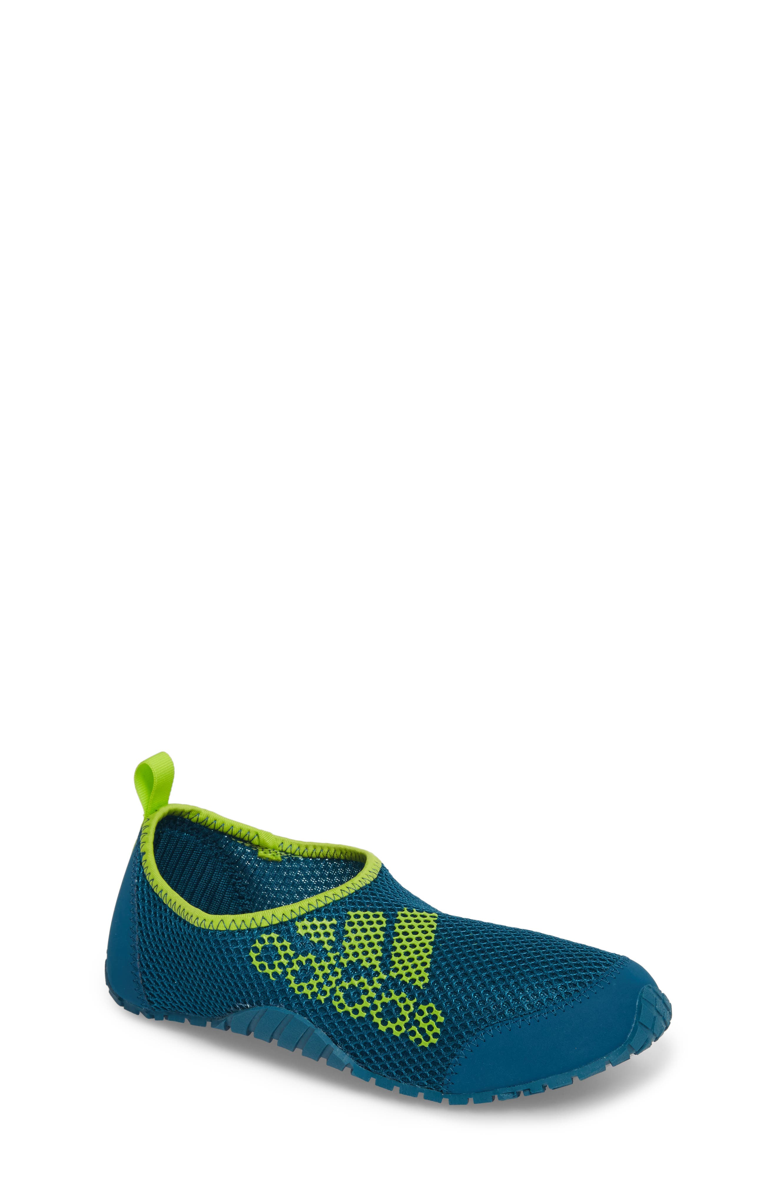 Kurobe Mesh Slip-On Water Shoe,                         Main,                         color, TEAL/ PETROL NIGHT/ SOLAR