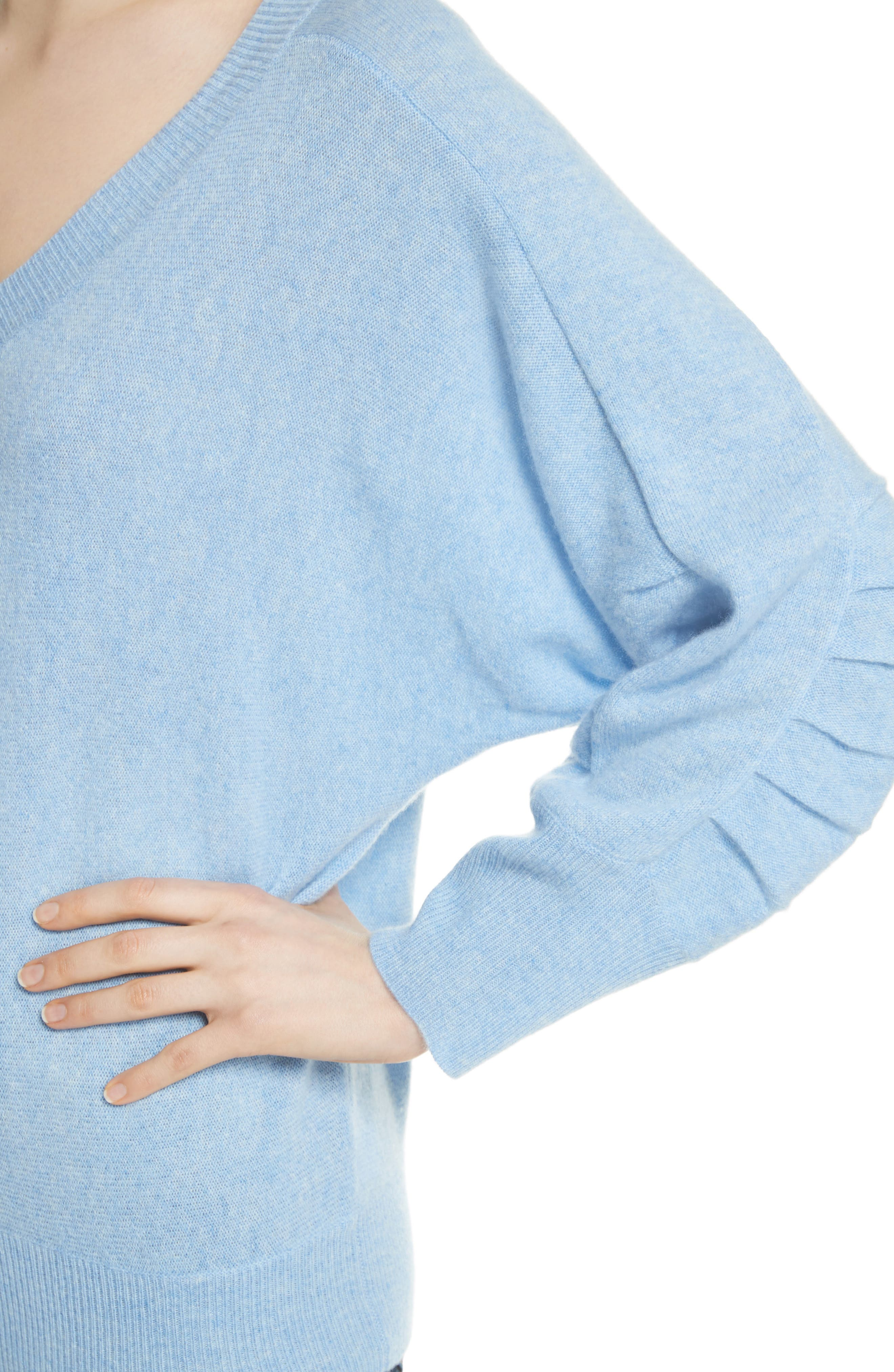 Weller Cashmere Sweater,                             Alternate thumbnail 8, color,