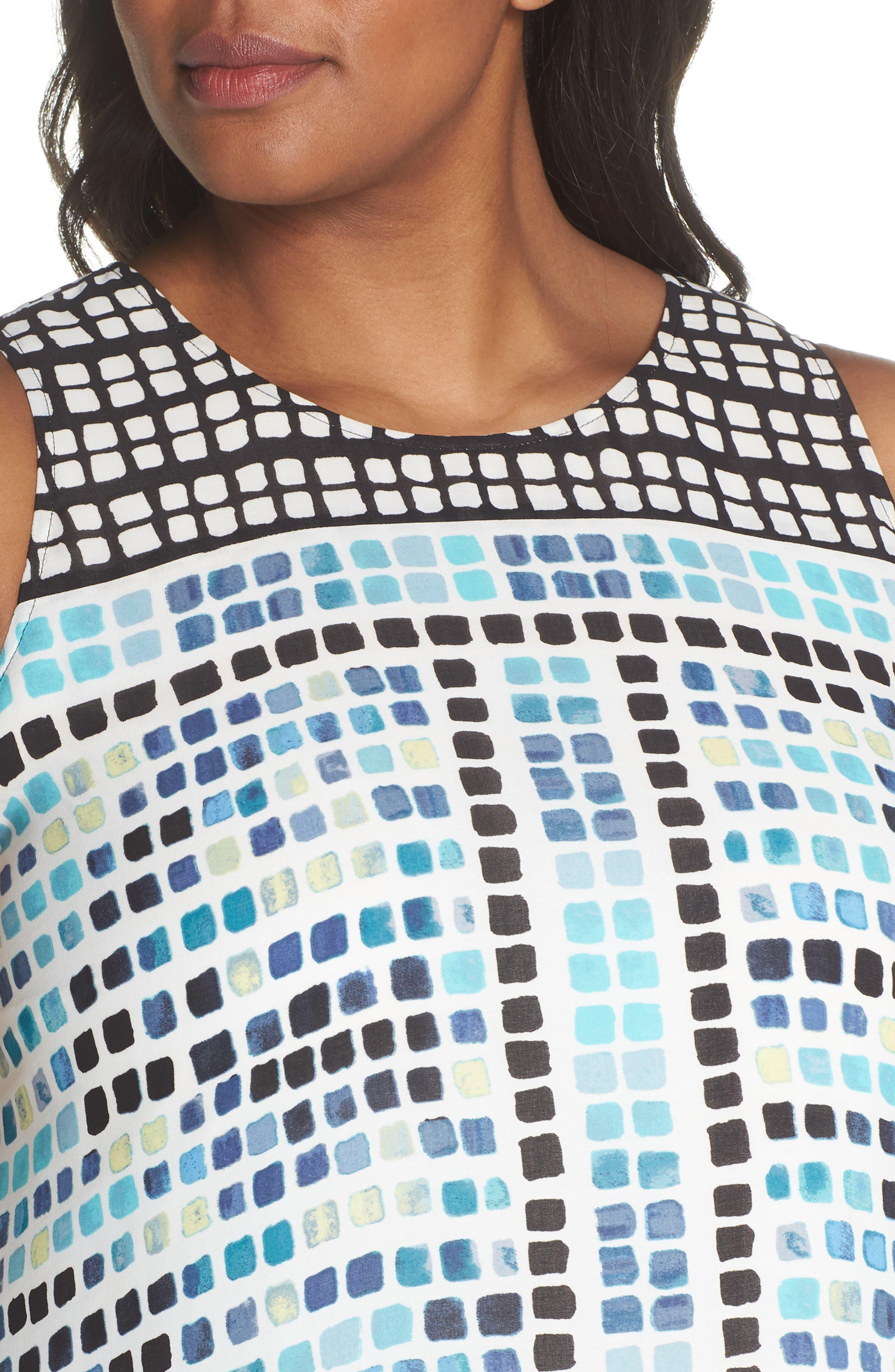 Color Wave Maxi Dress,                             Alternate thumbnail 4, color,                             490