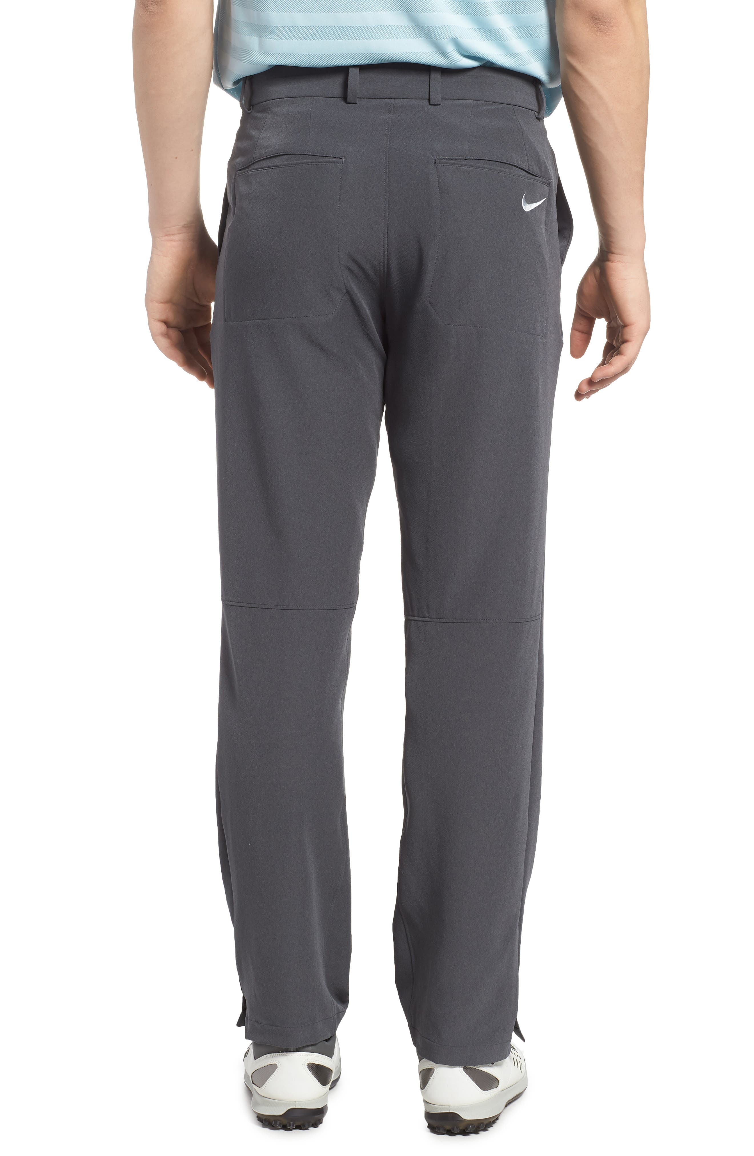 Hybrid Flex Golf Pants,                             Alternate thumbnail 2, color,                             CHARCOAL HEATHER/ DARK GREY