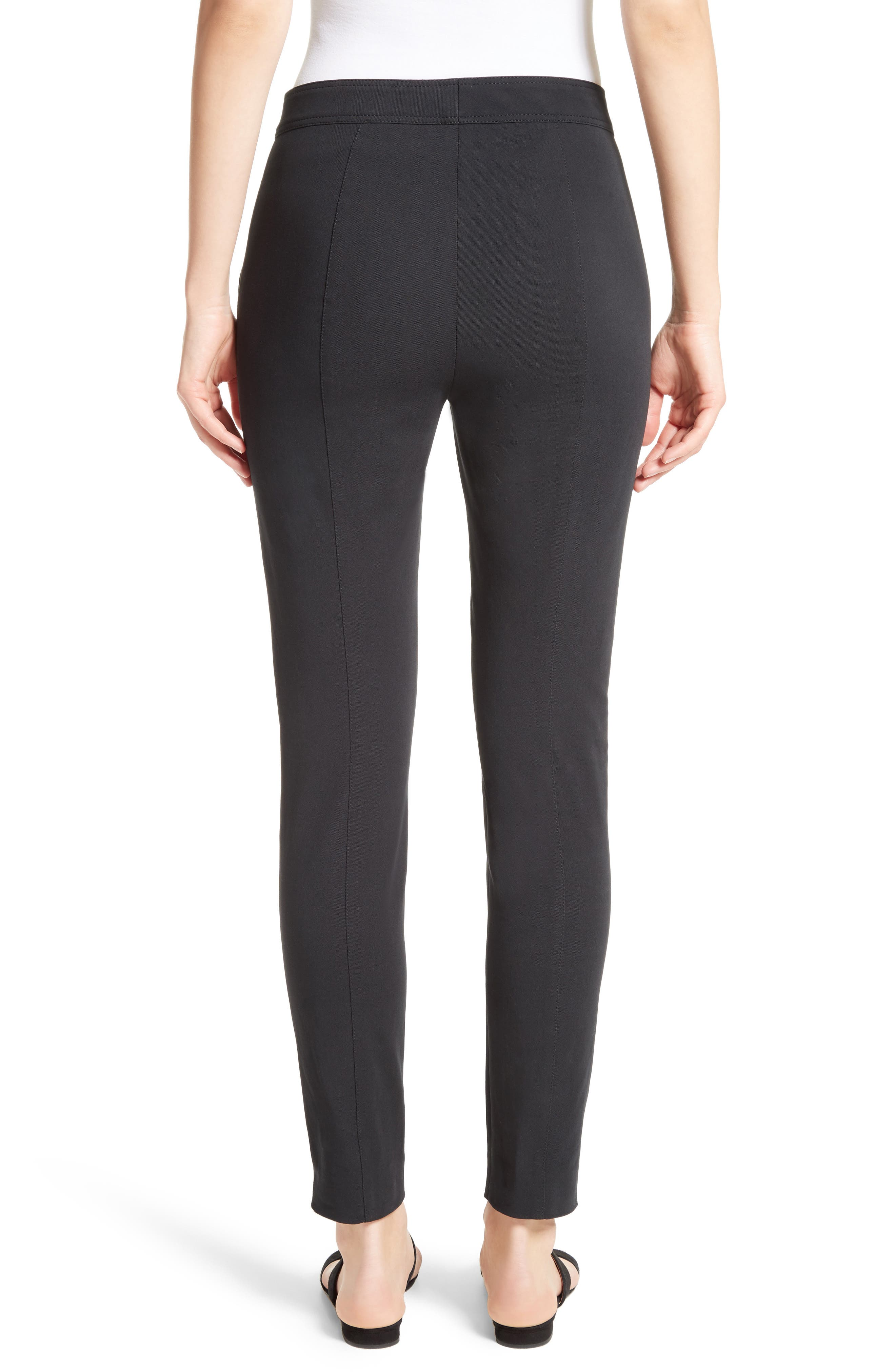 Fine Stretch Twill Skinny Pants,                             Alternate thumbnail 2, color,                             001