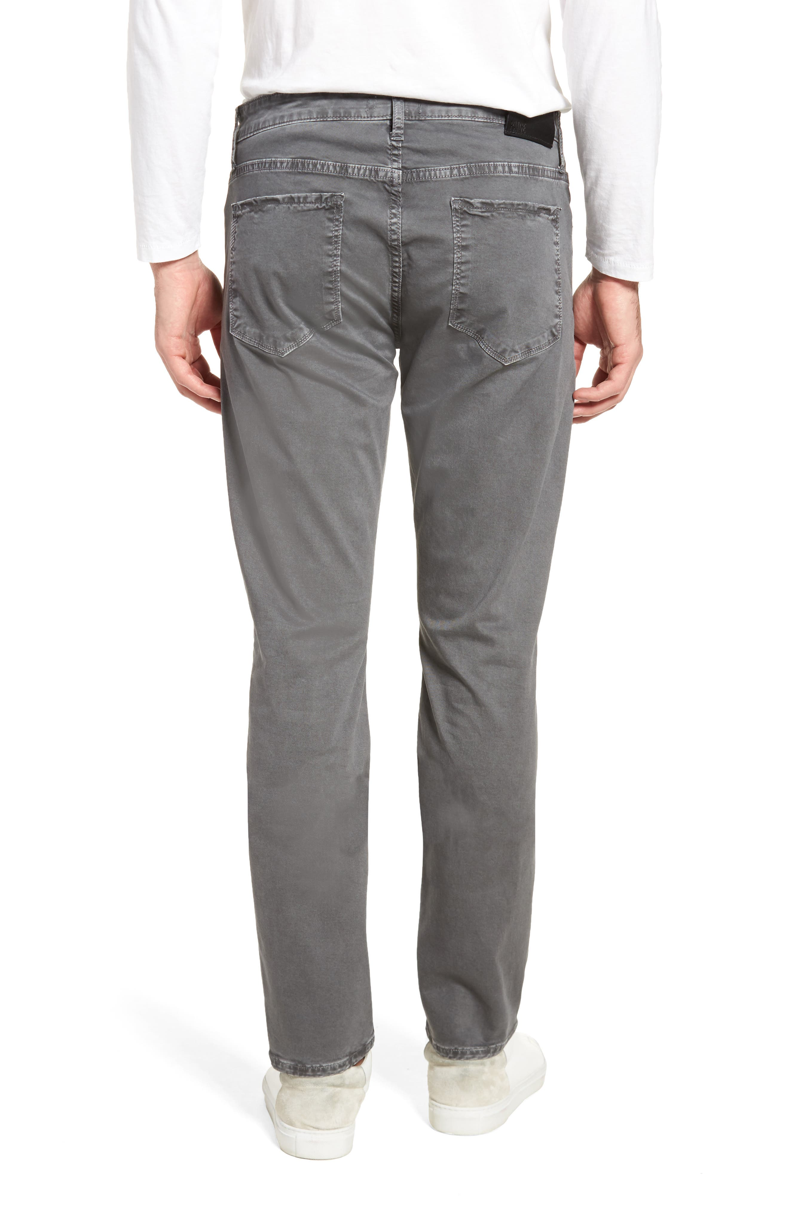 Lennox Slim Fit Five-Pocket Pants,                             Alternate thumbnail 2, color,                             VINTAGE THUNDER GREY