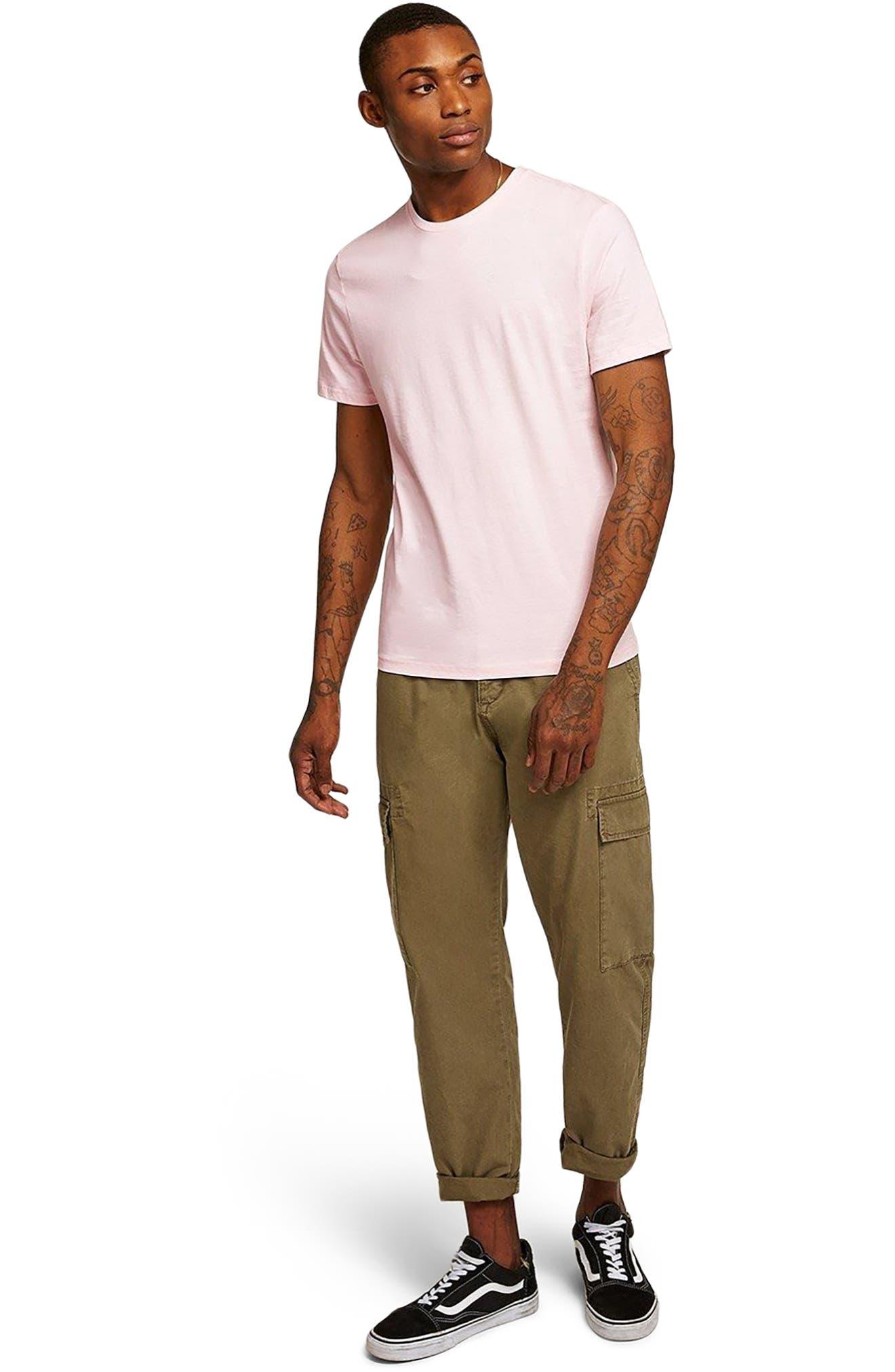 Slim Fit Crewneck T-Shirt,                             Alternate thumbnail 389, color,