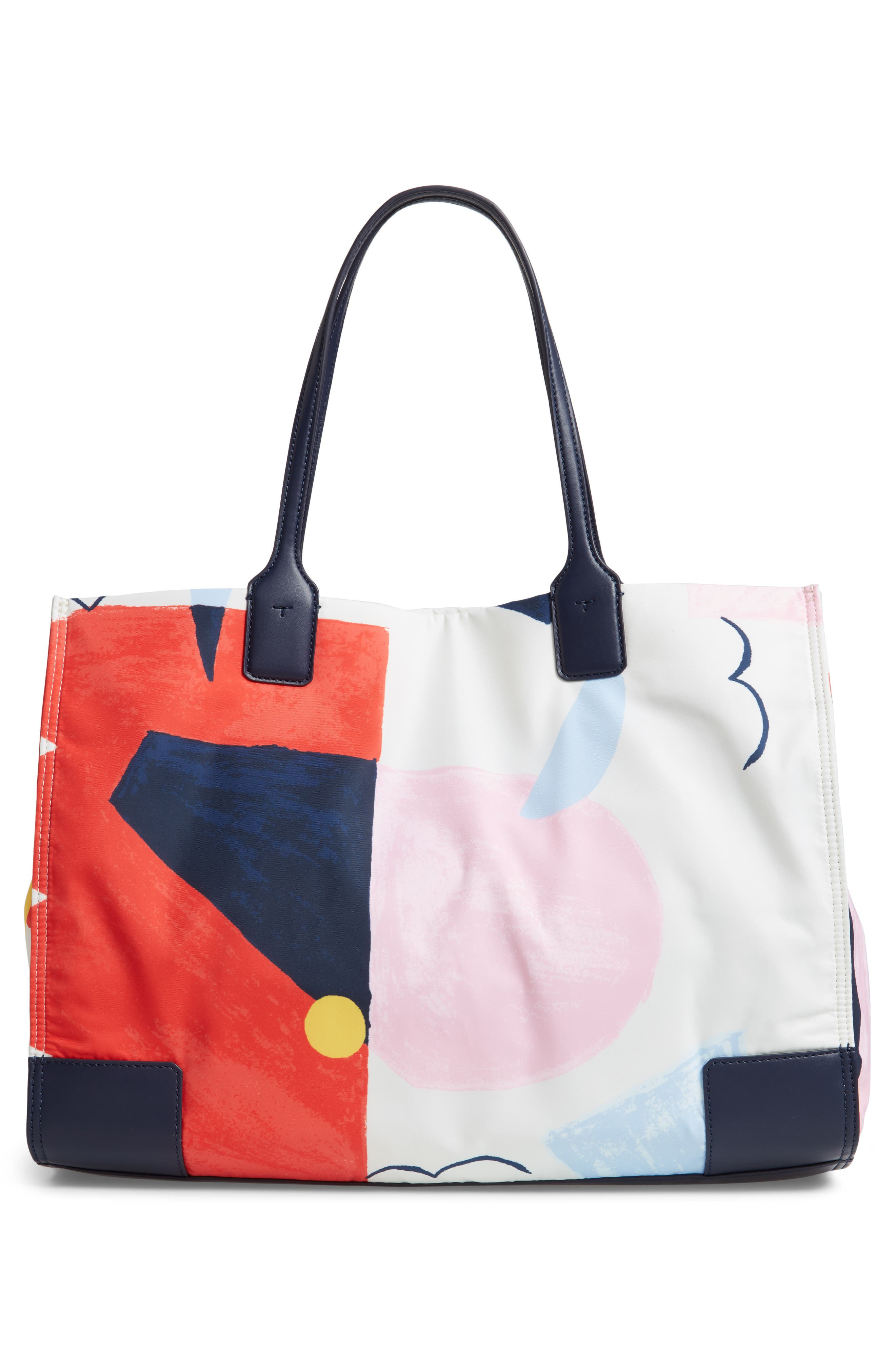 Ella Printed Tote,                             Alternate thumbnail 3, color,                             INSIDE THE BOX