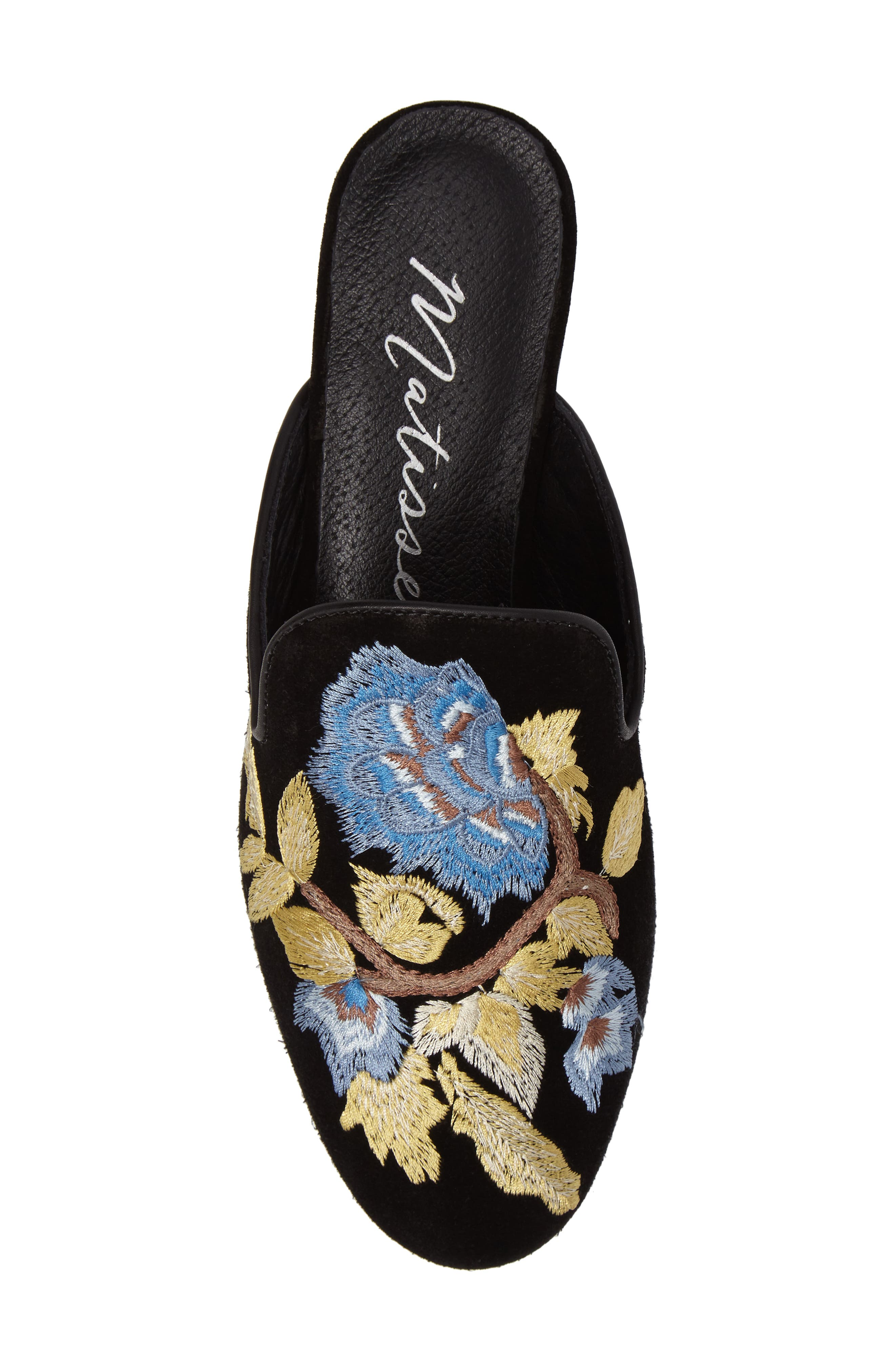 Bianca Embroidered Mule,                             Alternate thumbnail 5, color,                             017