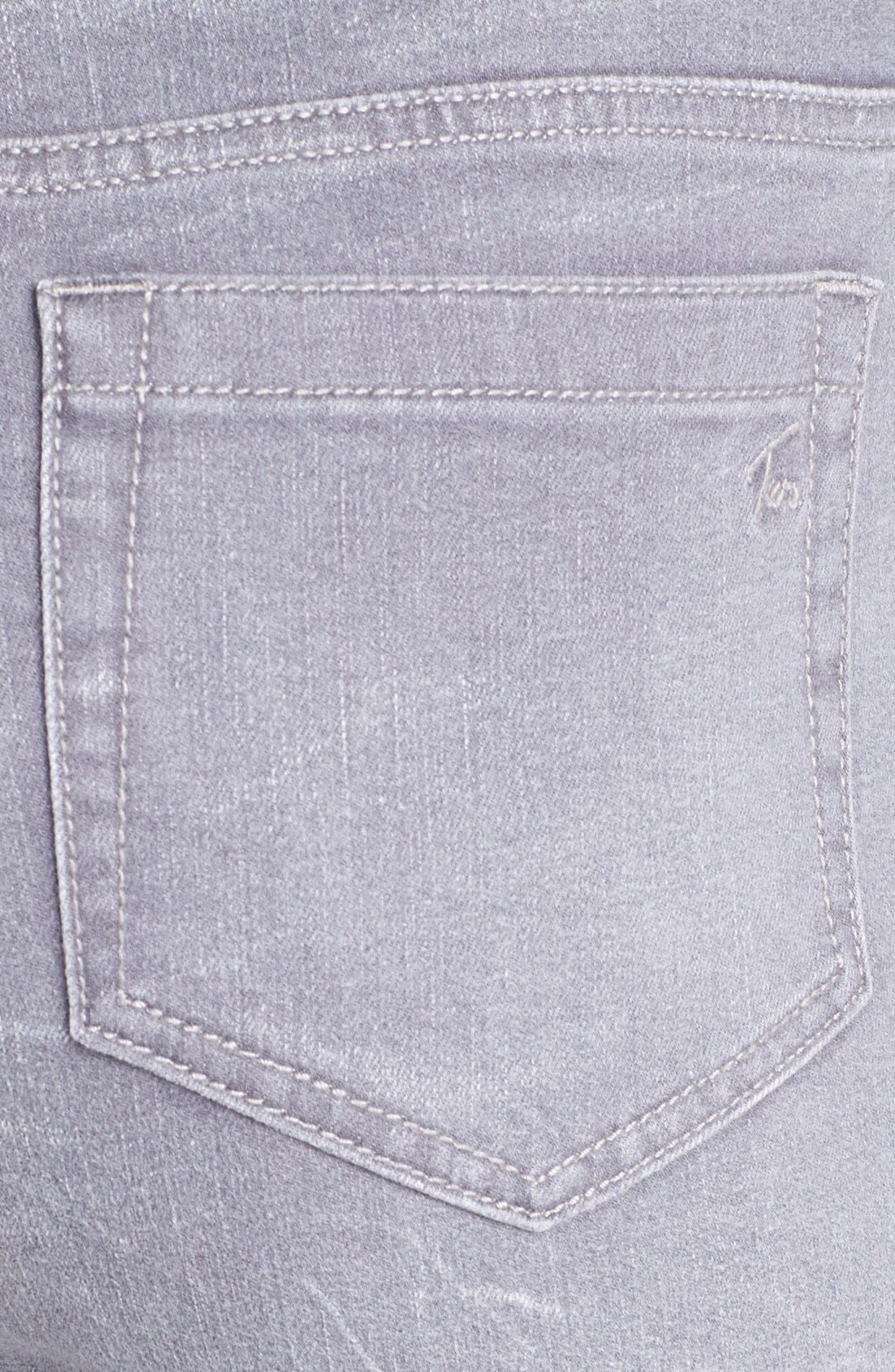 Sand Washed Skinny Jeans,                             Alternate thumbnail 4, color,                             085