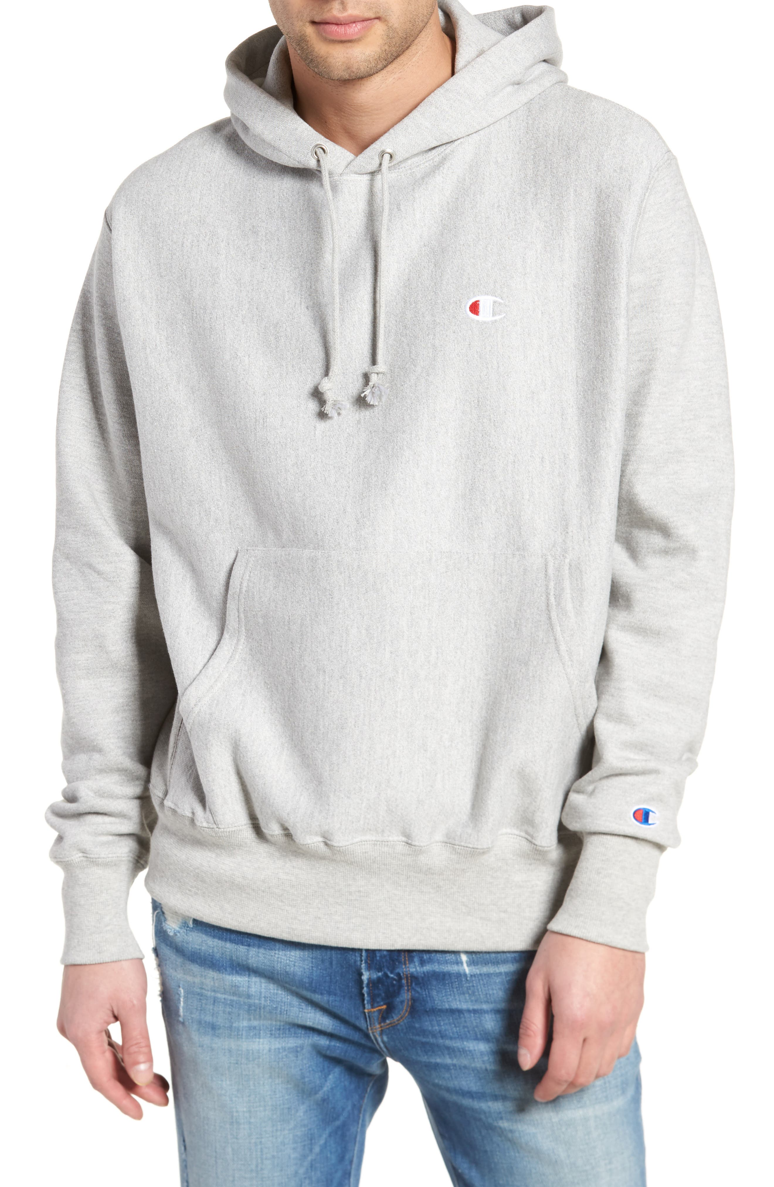 Reverse Weave<sup>®</sup> Pullover Hoodie,                             Main thumbnail 3, color,