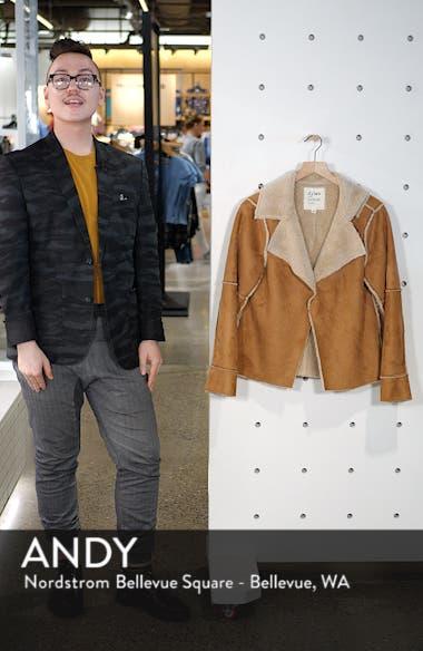 Faux Shearling Jacket, sales video thumbnail