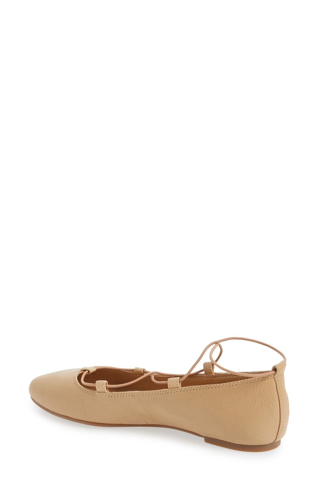 'Aviee' Lace-Up Flat,                             Alternate thumbnail 25, color,