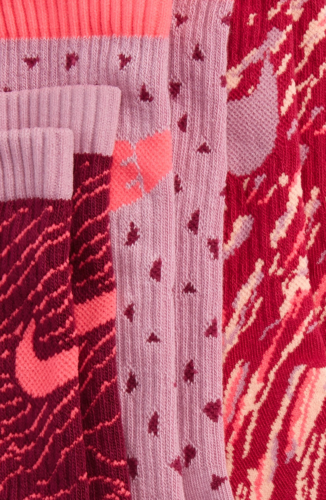 3-Pack Graphic Crew Socks,                             Alternate thumbnail 2, color,                             650