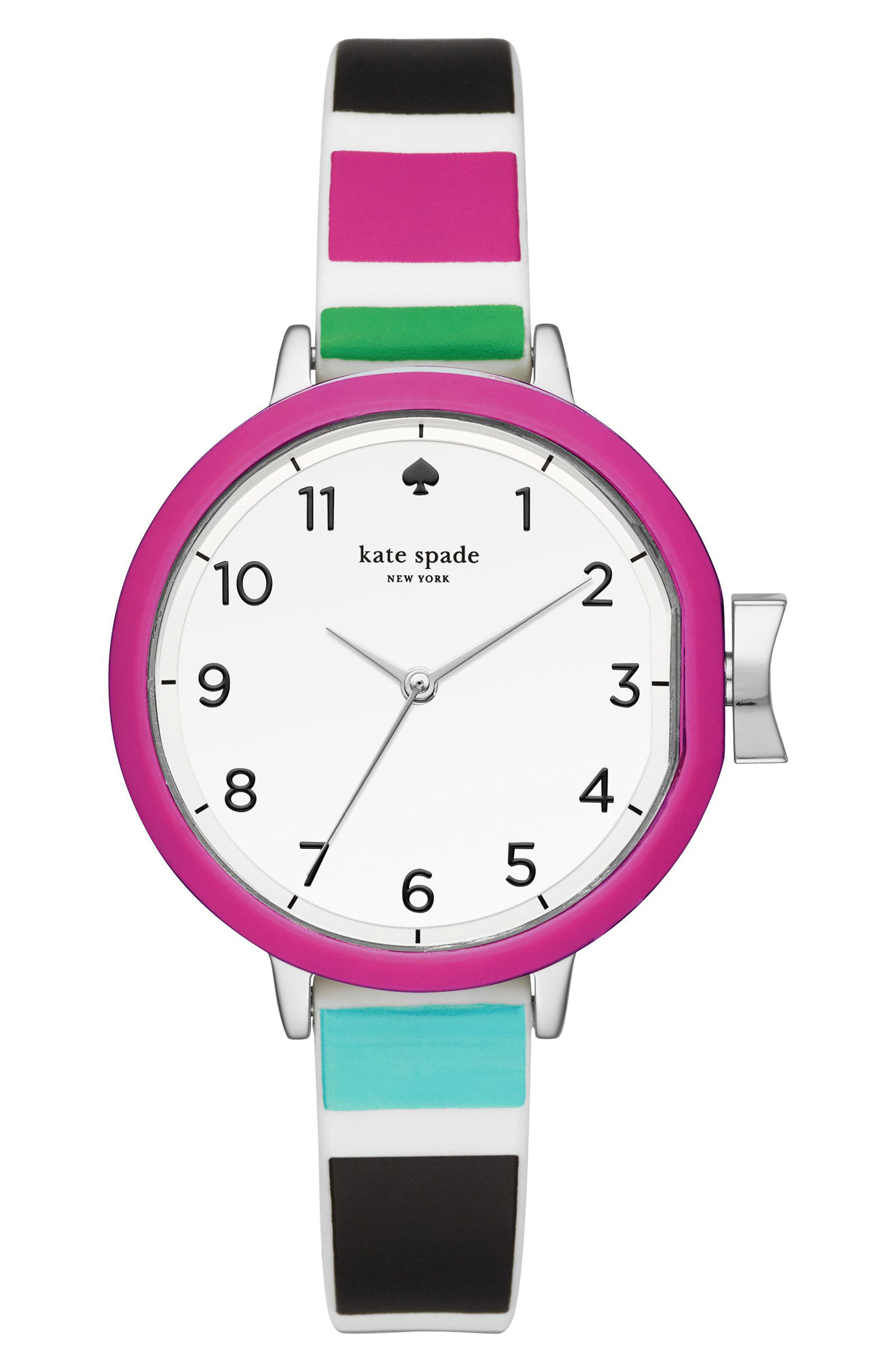 park row silicone strap watch, 34mm,                             Main thumbnail 13, color,