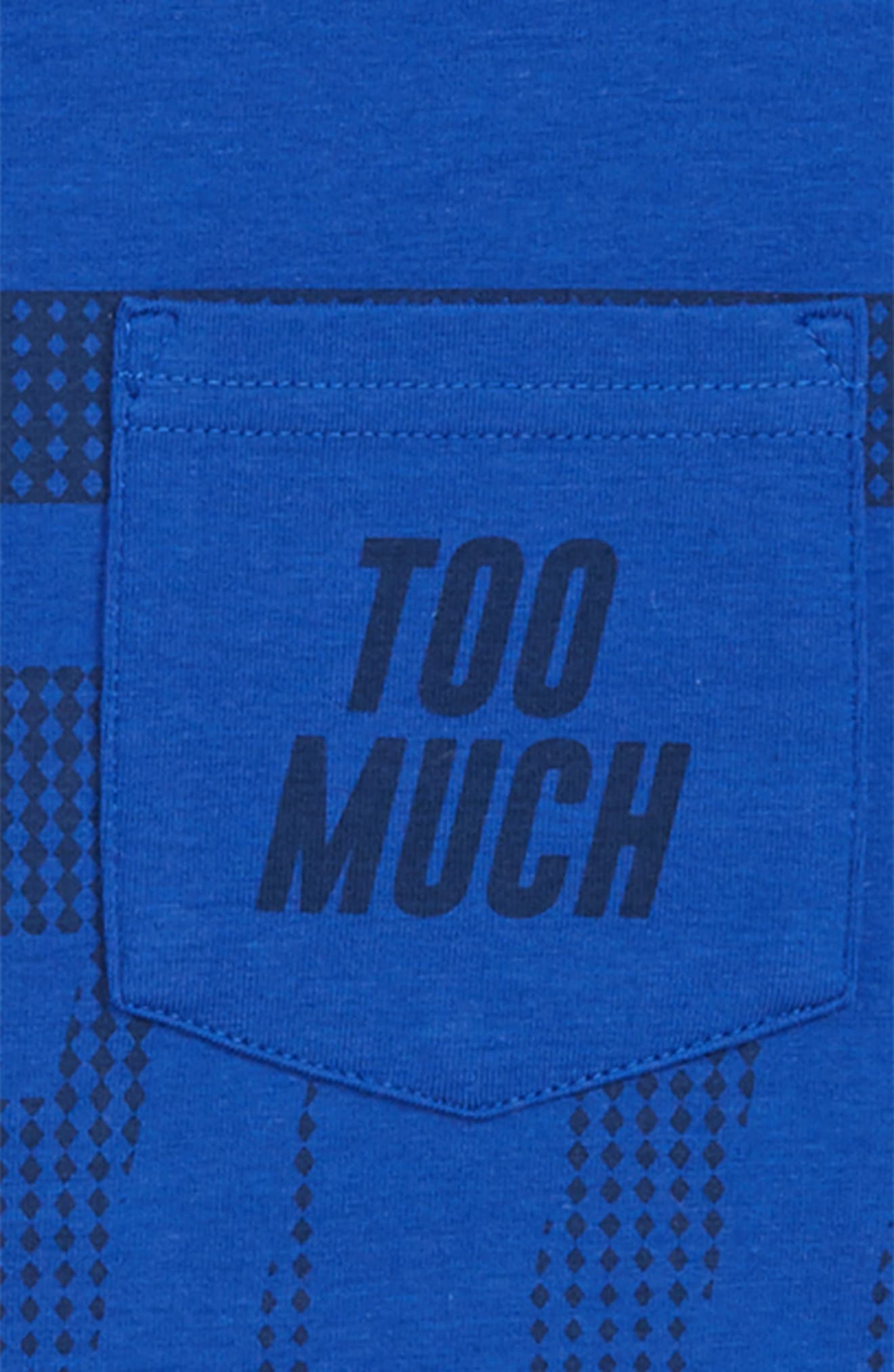 Too Much Talent T-Shirt,                             Alternate thumbnail 2, color,                             ROYAL/ ACADEMY