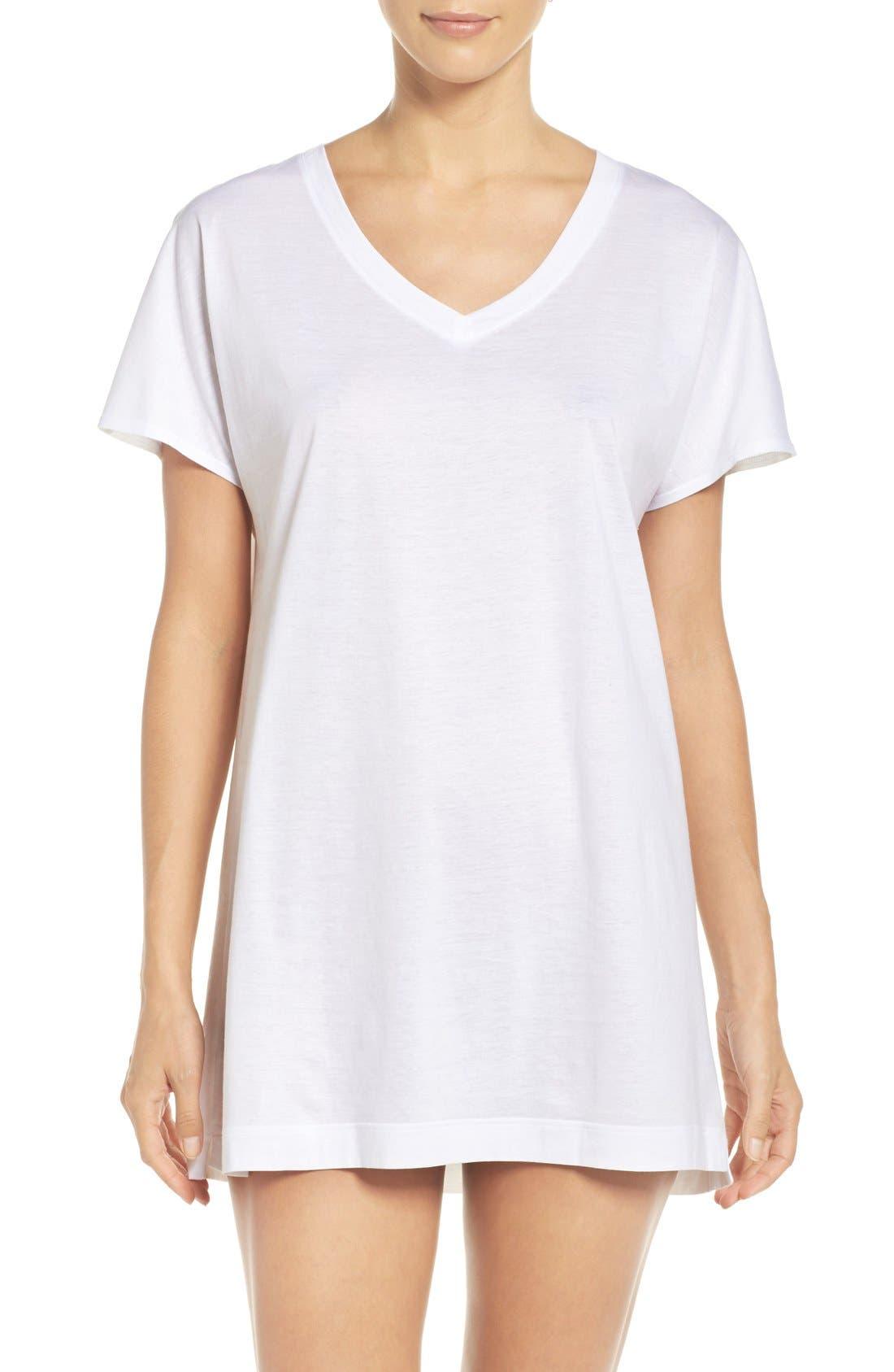 Laura Jersey Sleep Shirt,                             Main thumbnail 2, color,