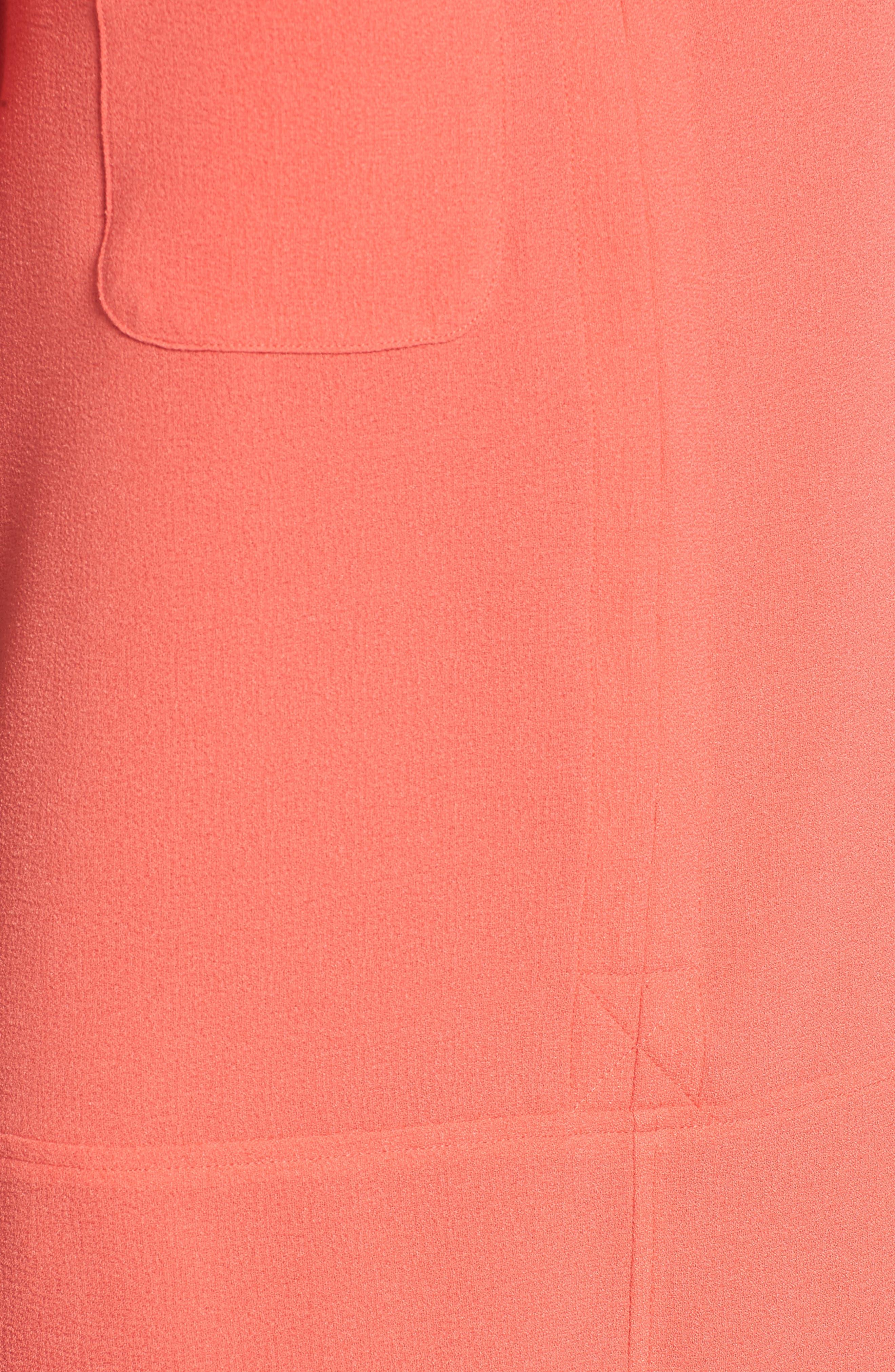 Hailey Crepe Dress,                             Alternate thumbnail 140, color,