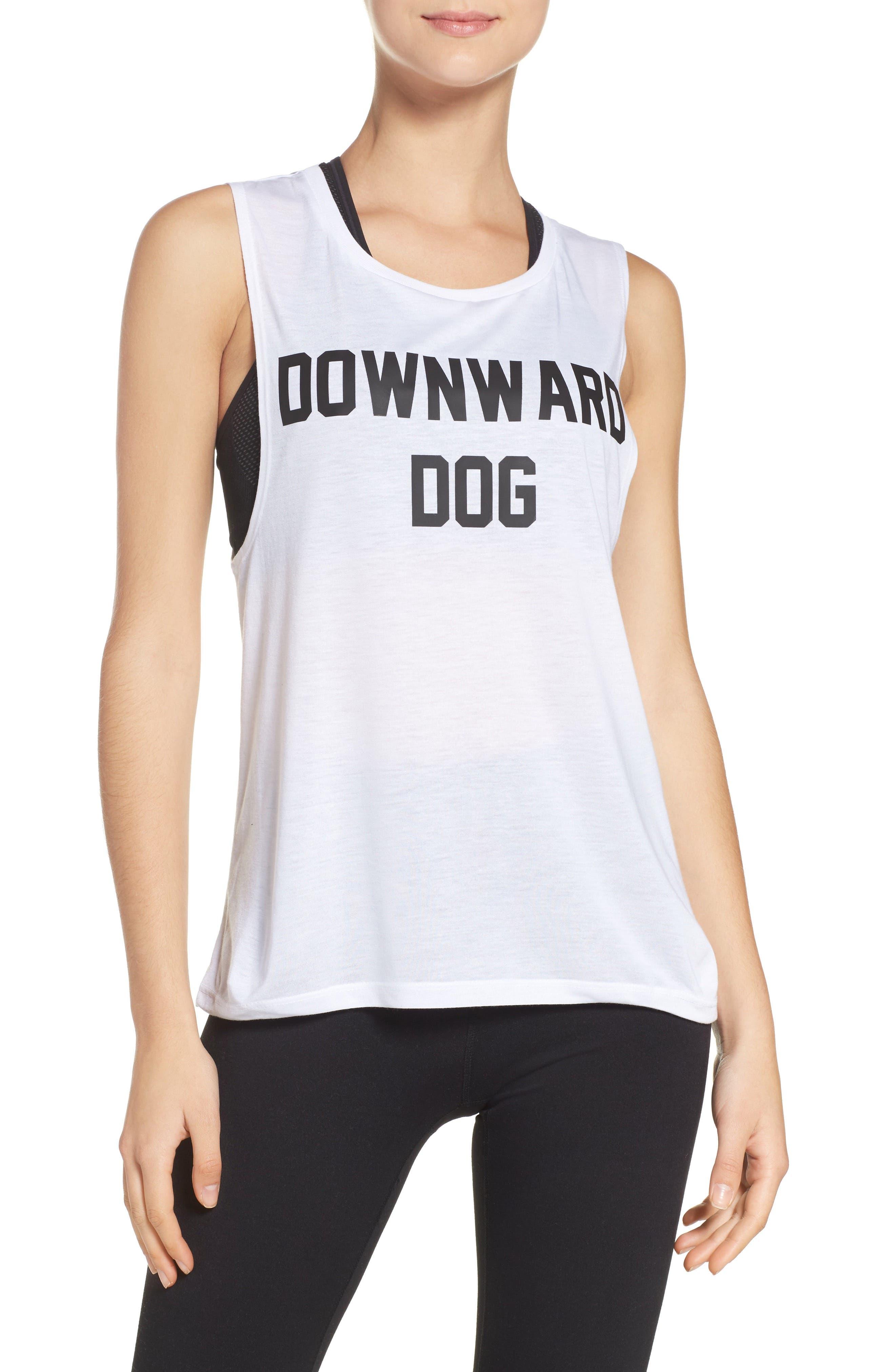 Downward Dog Tank,                             Main thumbnail 1, color,