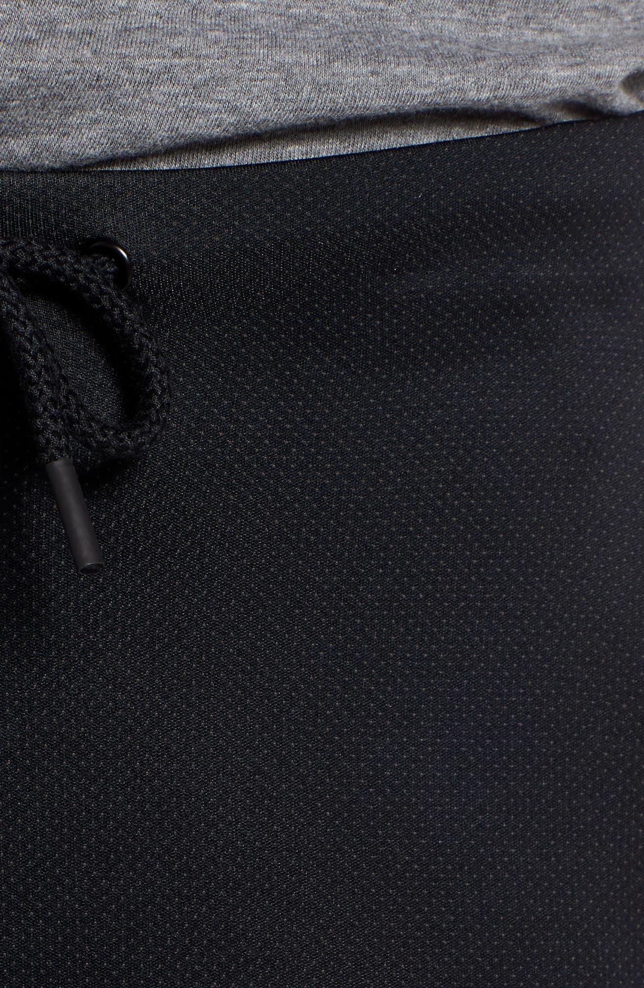 Unstoppable Move Airgap Pants,                             Alternate thumbnail 4, color,                             BLACK/ CHARCOAL/ BLACK