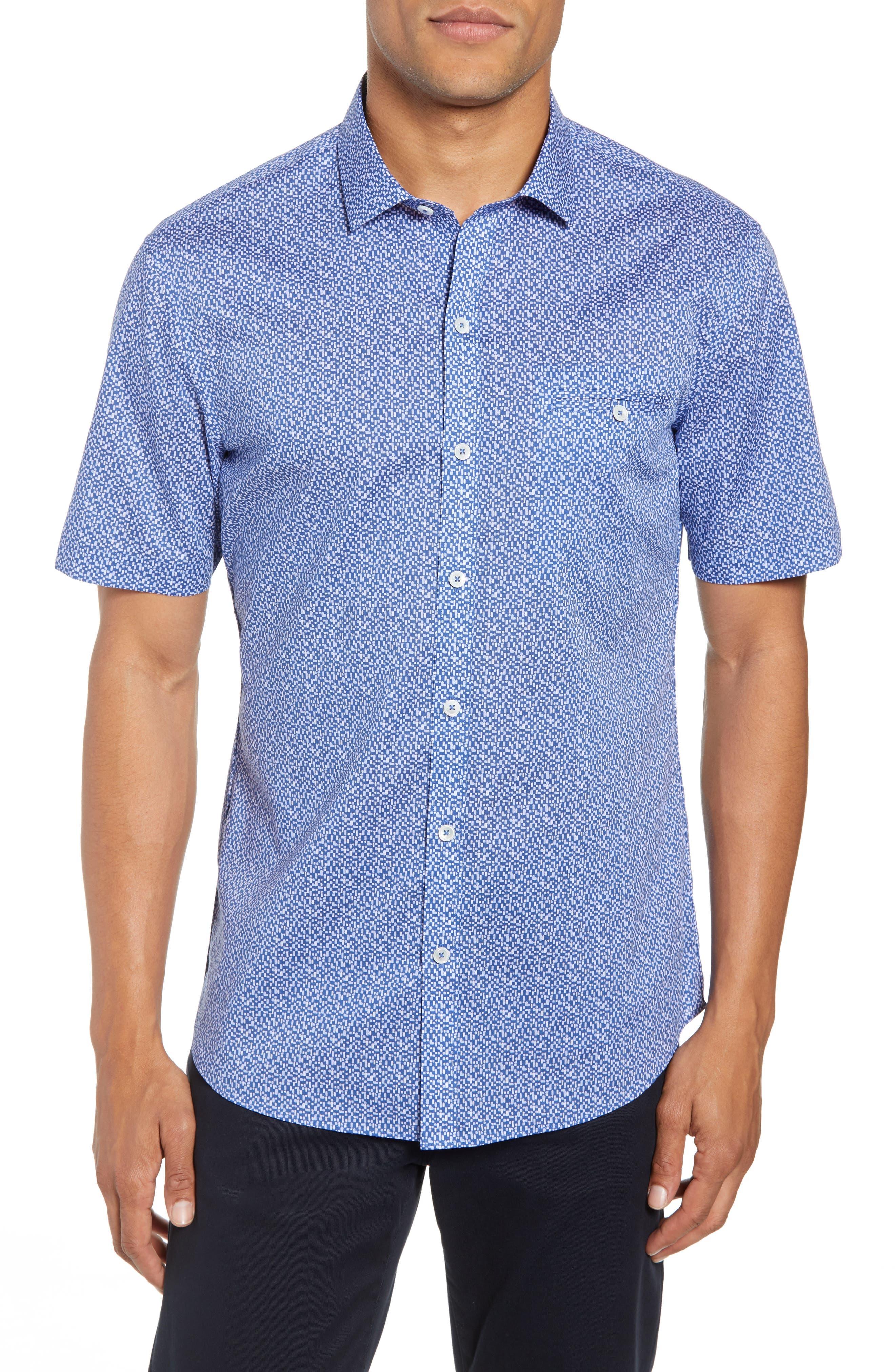 Zachary Prell Prashant Regular Fit Sport Shirt, Blue