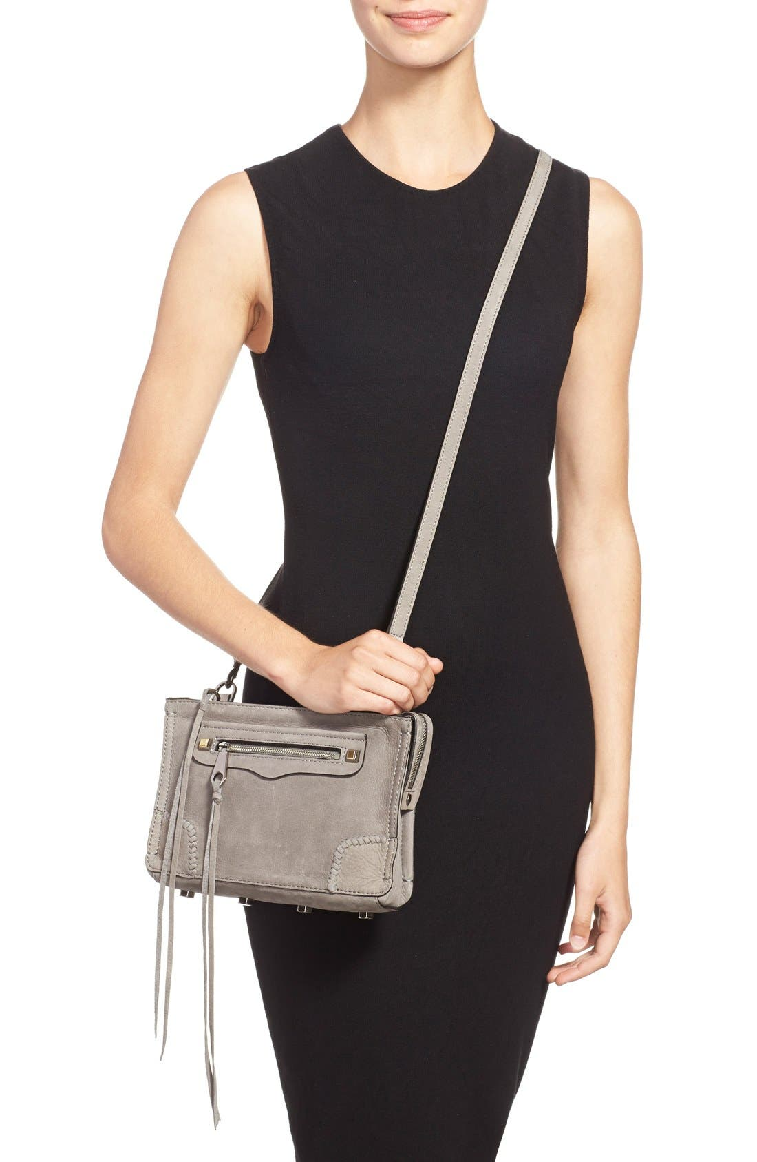 'Regan' Crossbody Bag,                             Alternate thumbnail 5, color,                             020