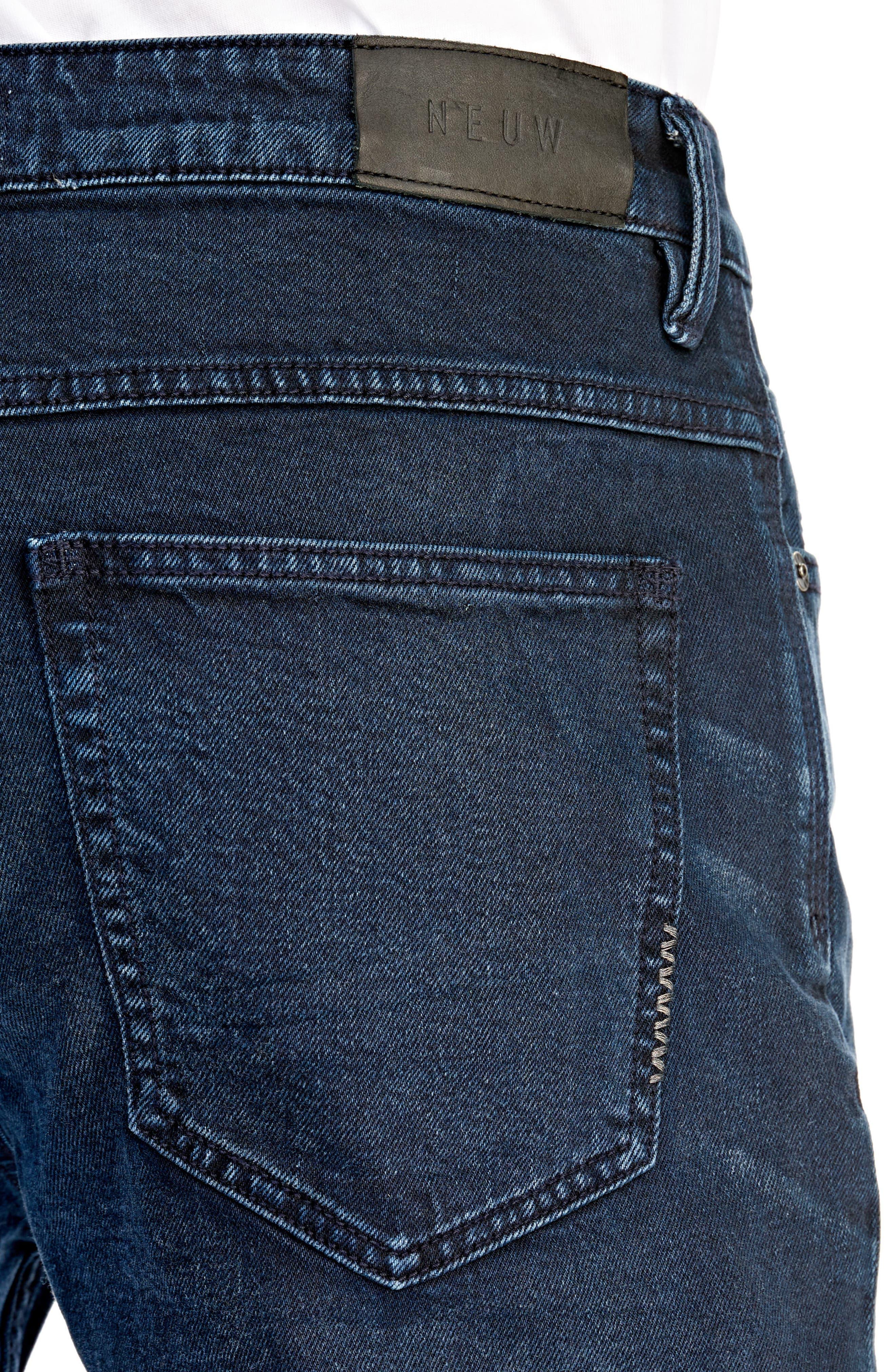 Lou Slim Fit Jeans,                             Alternate thumbnail 4, color,                             ZYDECO
