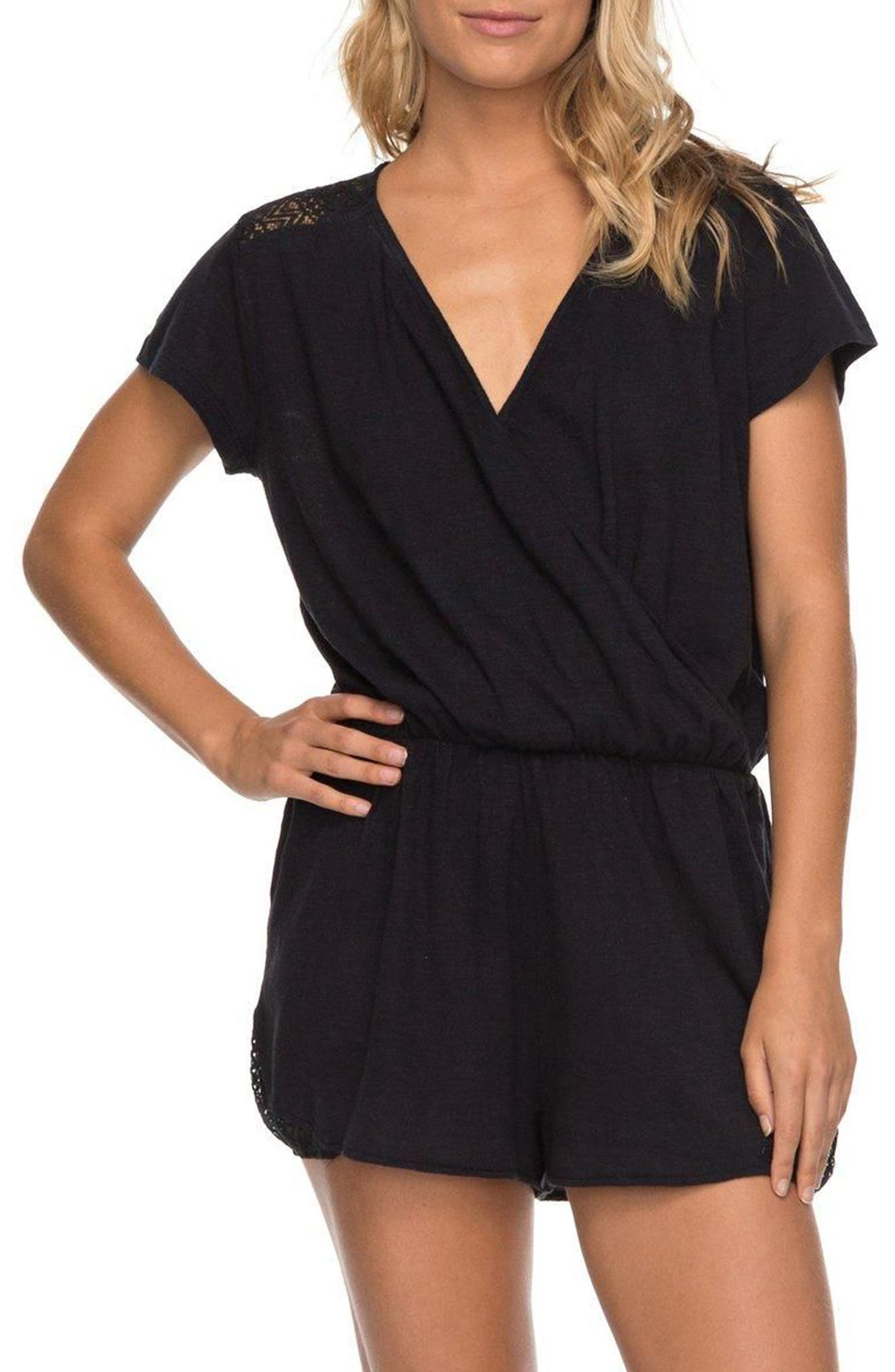 Salty Evening Romper,                         Main,                         color, 002