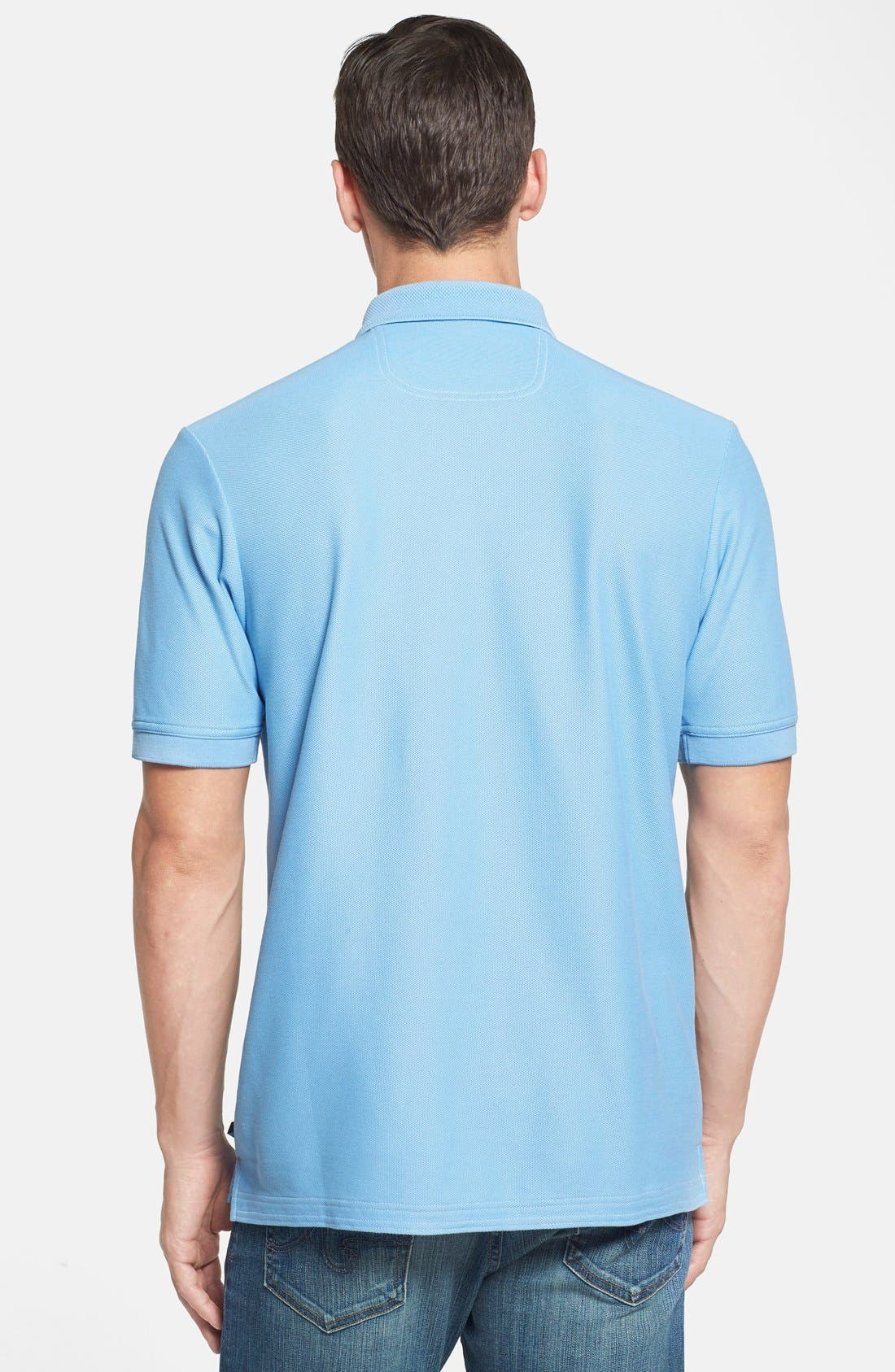 'The Emfielder' Original Fit Piqué Polo,                             Alternate thumbnail 150, color,