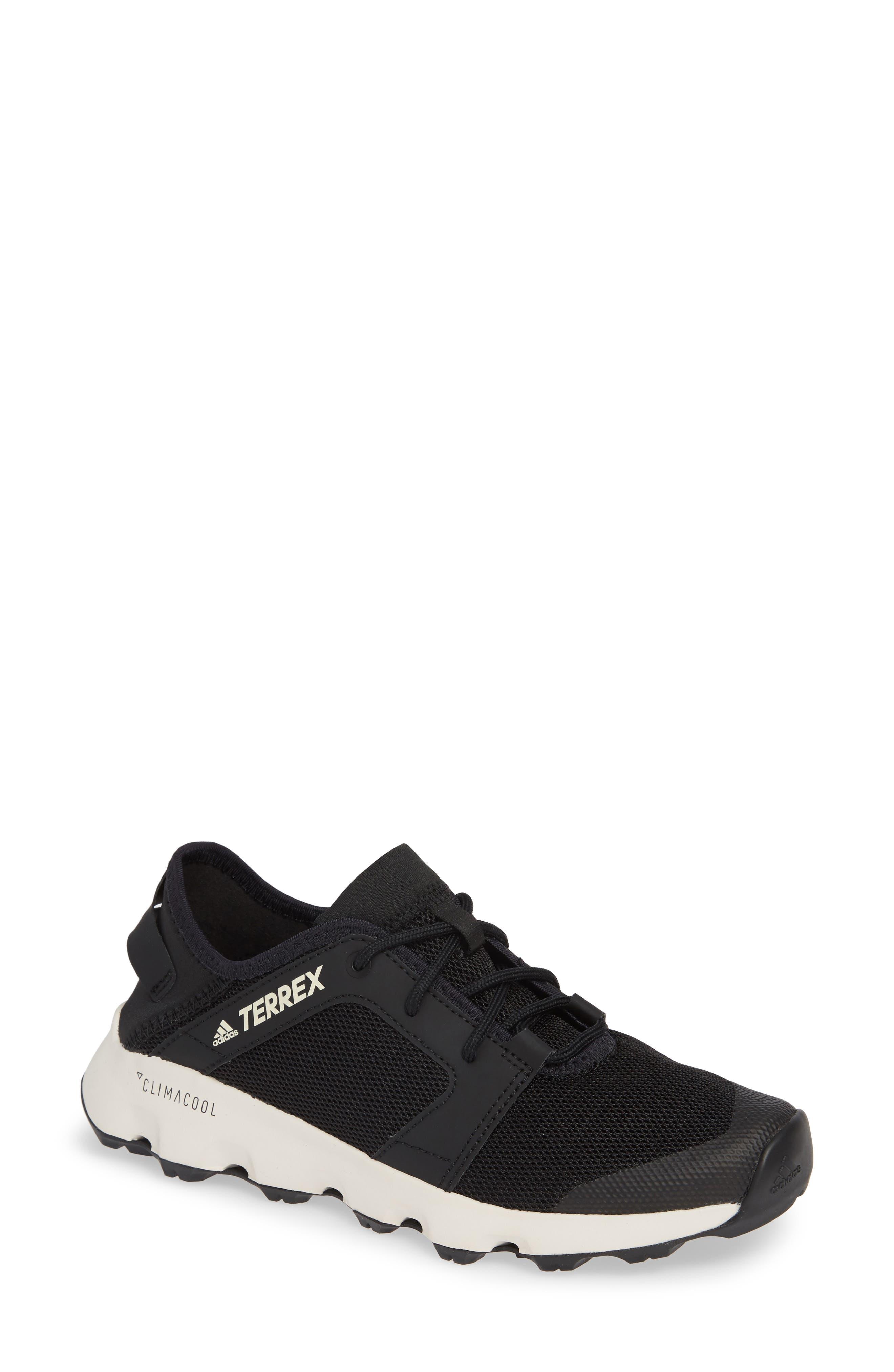 Terrex Climacool<sup>®</sup> Voyager Sleek Sneaker,                             Main thumbnail 1, color,                             BLACK/ BLACK/ CHALK WHITE