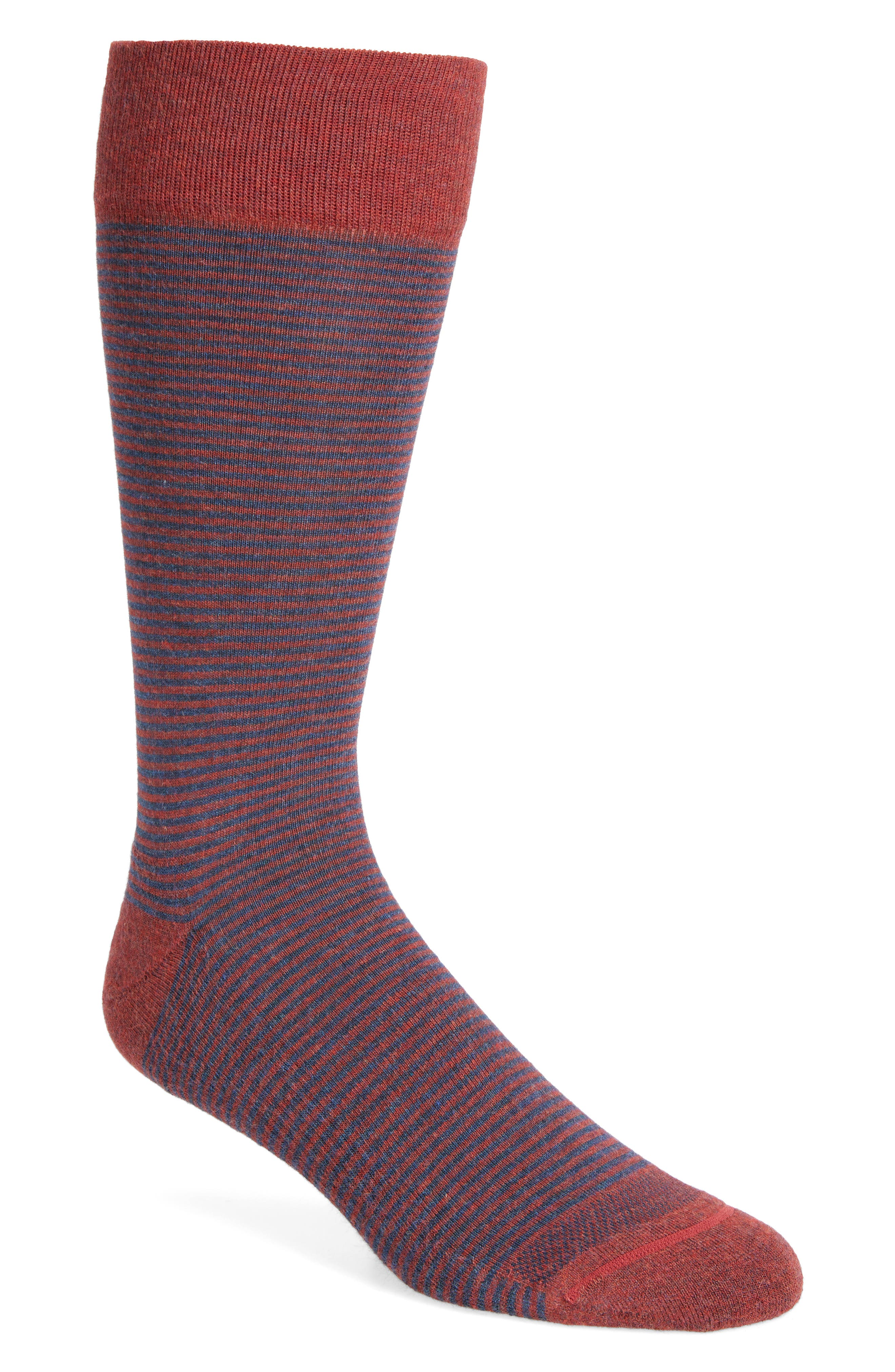Feeder Stripe Socks,                             Alternate thumbnail 27, color,