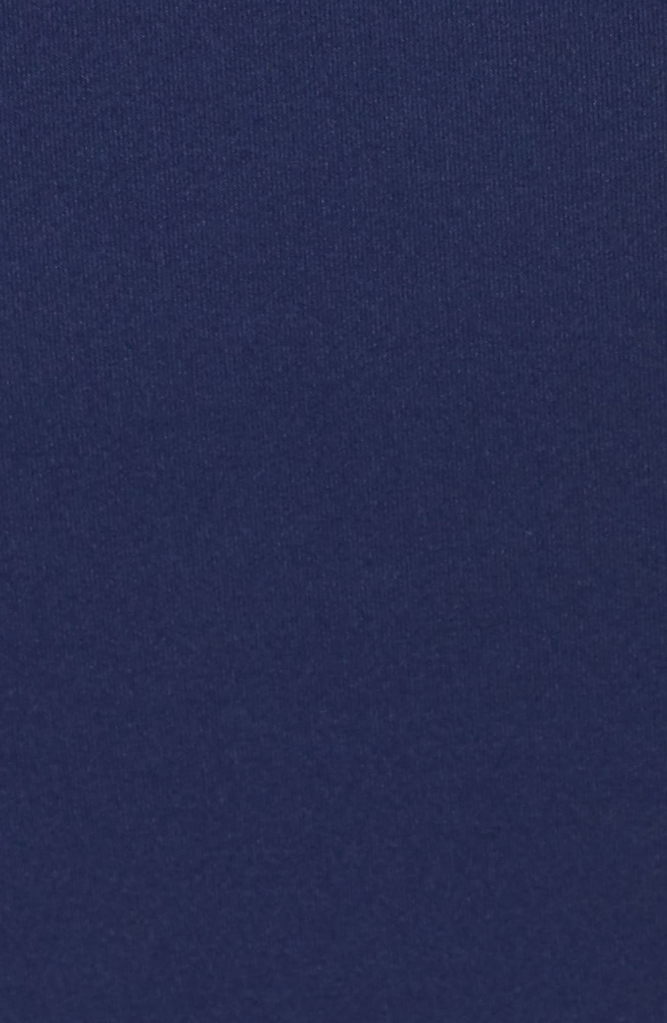 Strapless Tie Front Sheath Dress,                             Alternate thumbnail 6, color,