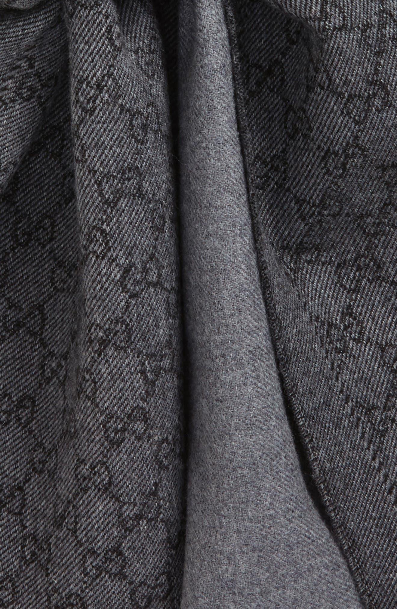 Lonar Wool Jacquard Scarf,                             Alternate thumbnail 18, color,