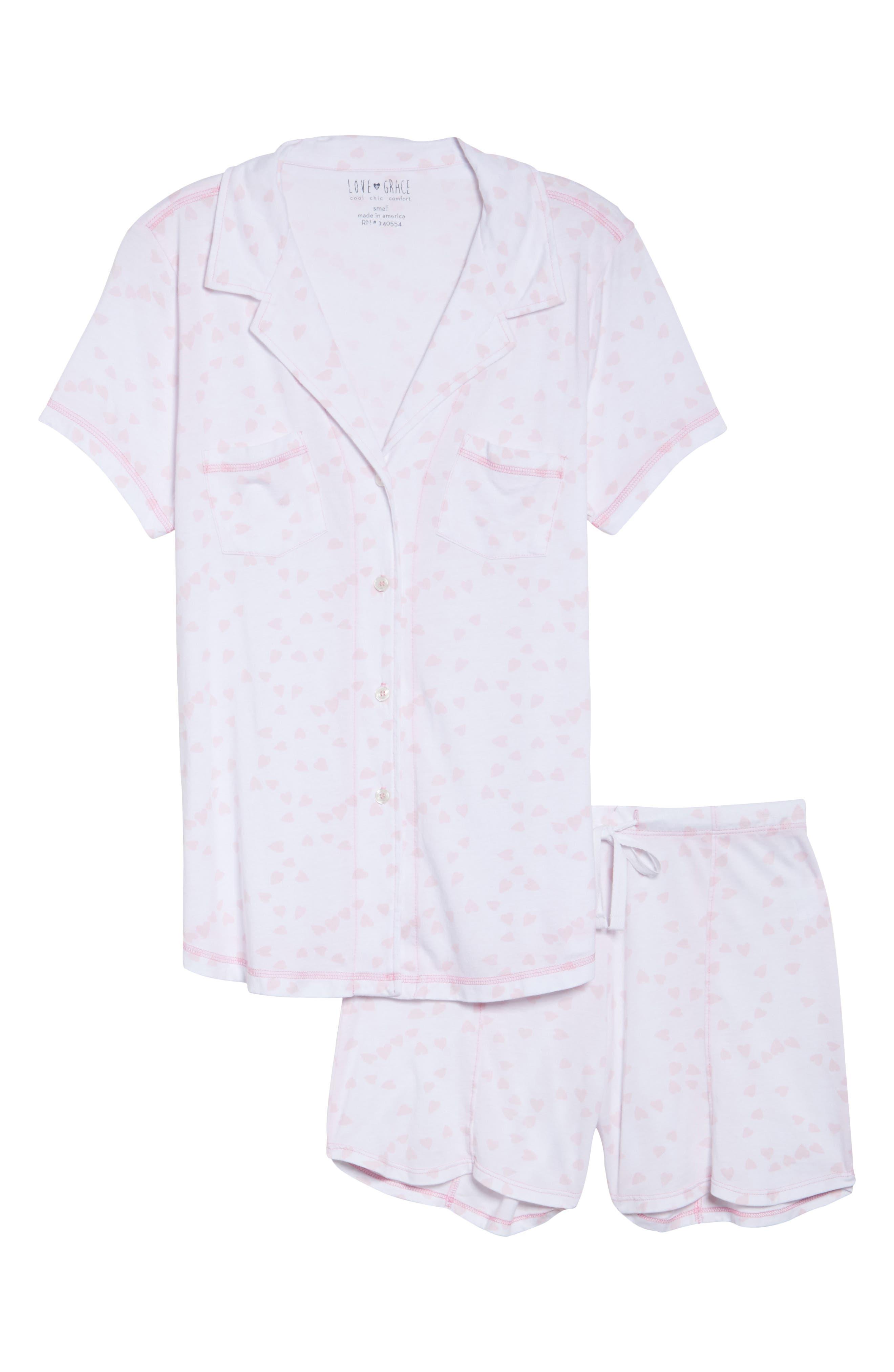 Donna - Luvey Dovey Short Pajamas,                             Alternate thumbnail 6, color,                             650
