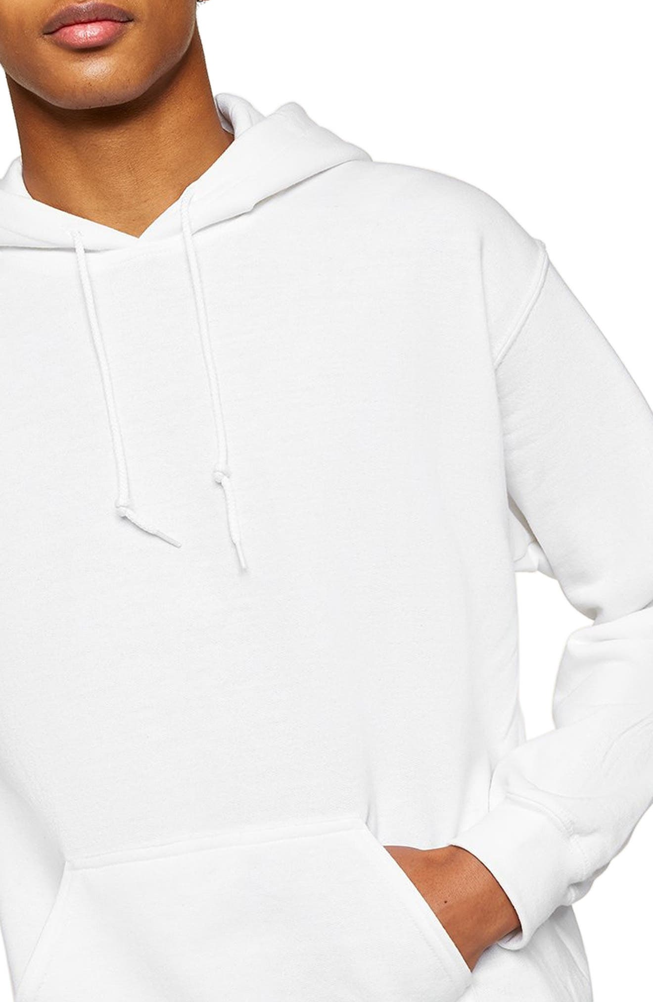 Classic Fit Gildan Pullover Hoodie,                             Alternate thumbnail 3, color,                             100