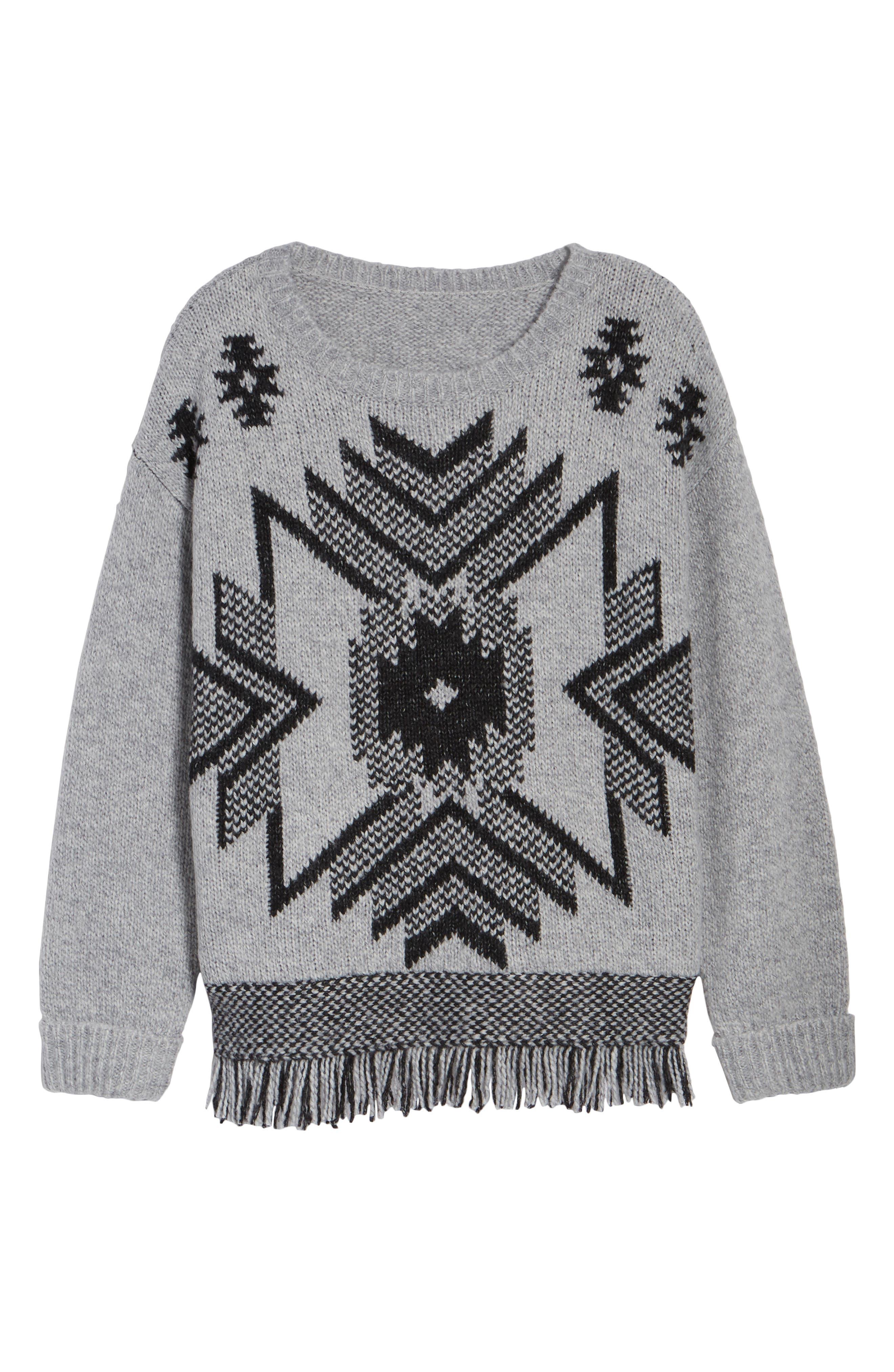 Fringe Sweater,                             Alternate thumbnail 22, color,