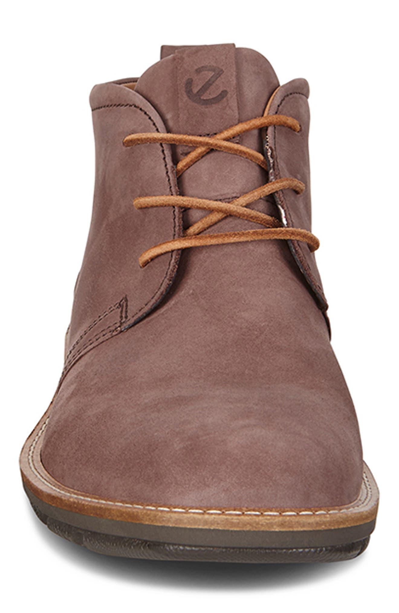 'Jeremy Hybrid' Plain Toe Boot,                             Alternate thumbnail 3, color,                             COFFEE LEATHER