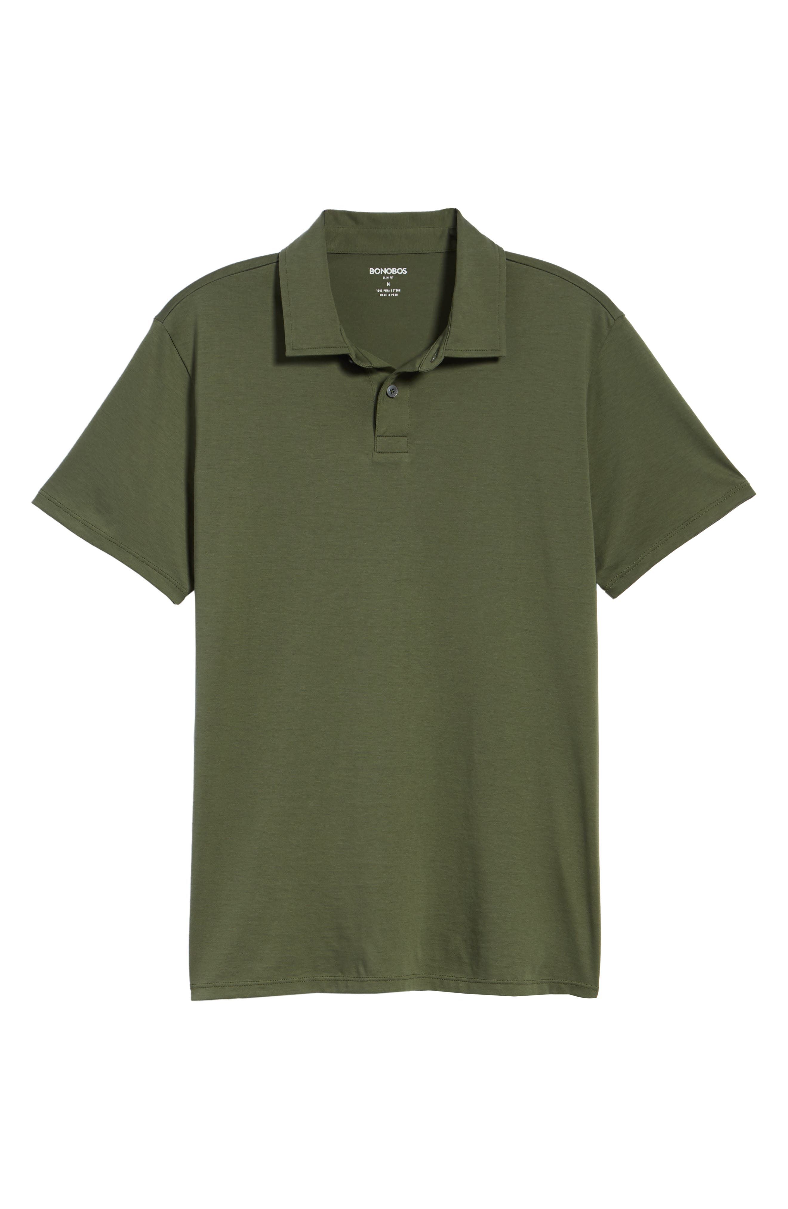 Refined Jersey Polo,                             Alternate thumbnail 44, color,