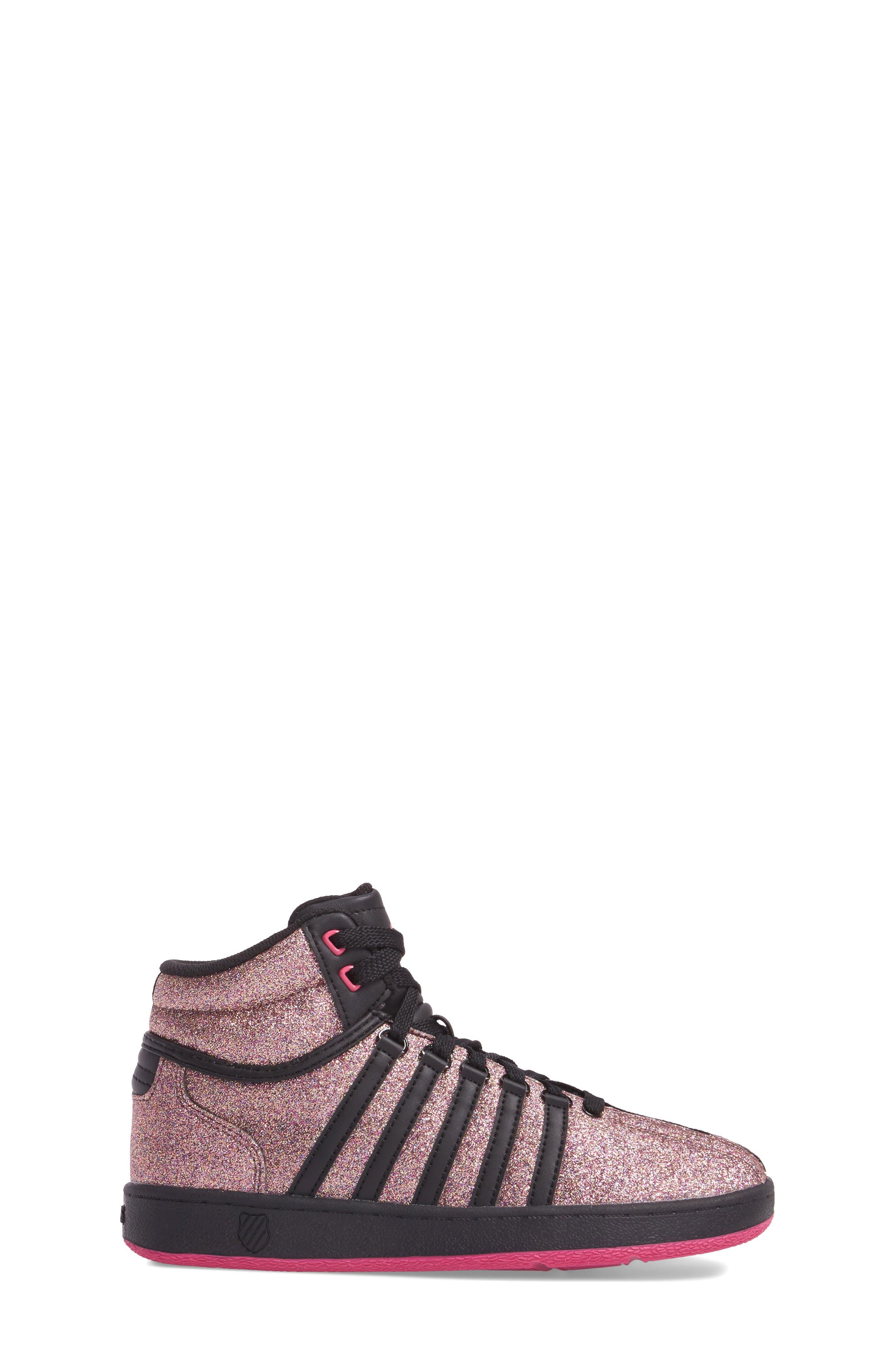 Classic VN Sparkle Mid Sneaker,                             Alternate thumbnail 3, color,                             MULTI SPARKLE