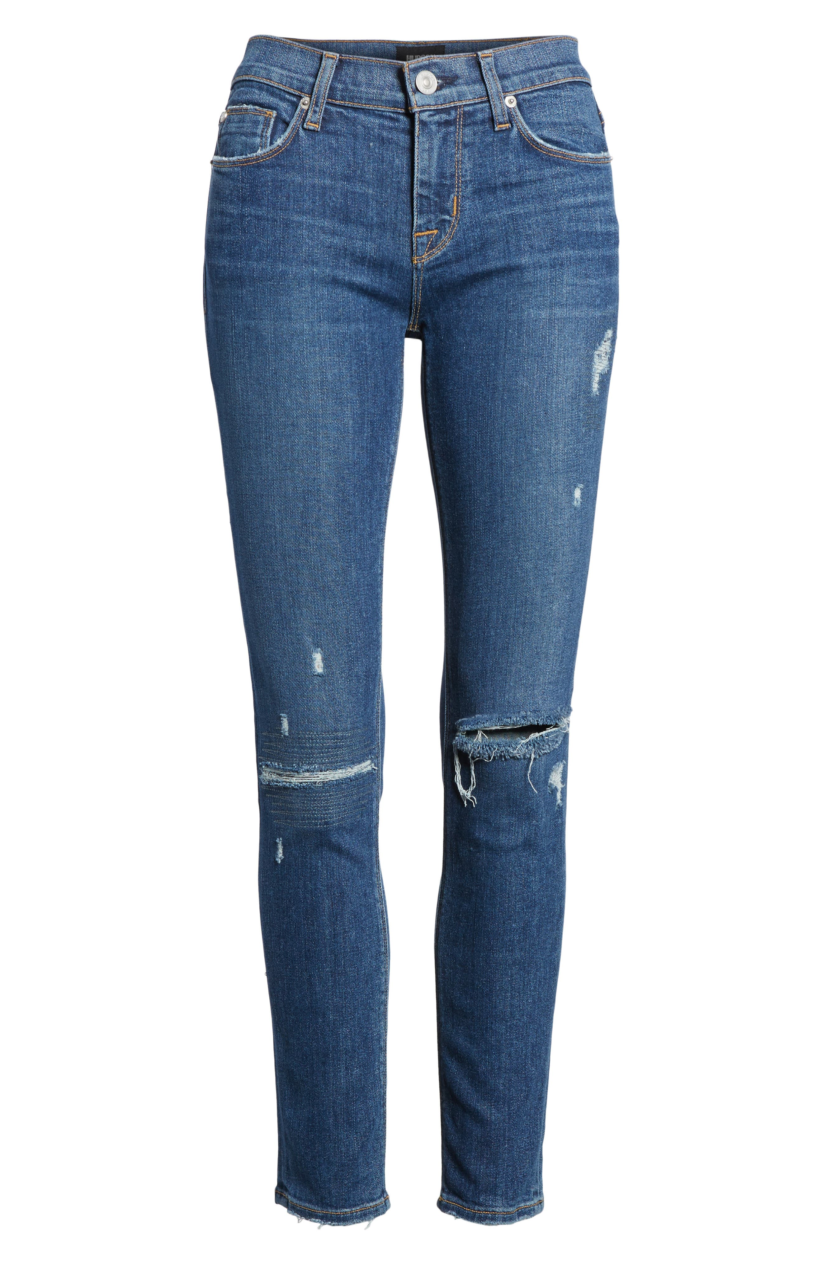 Tally Ankle Skinny Jeans,                             Alternate thumbnail 6, color,                             423