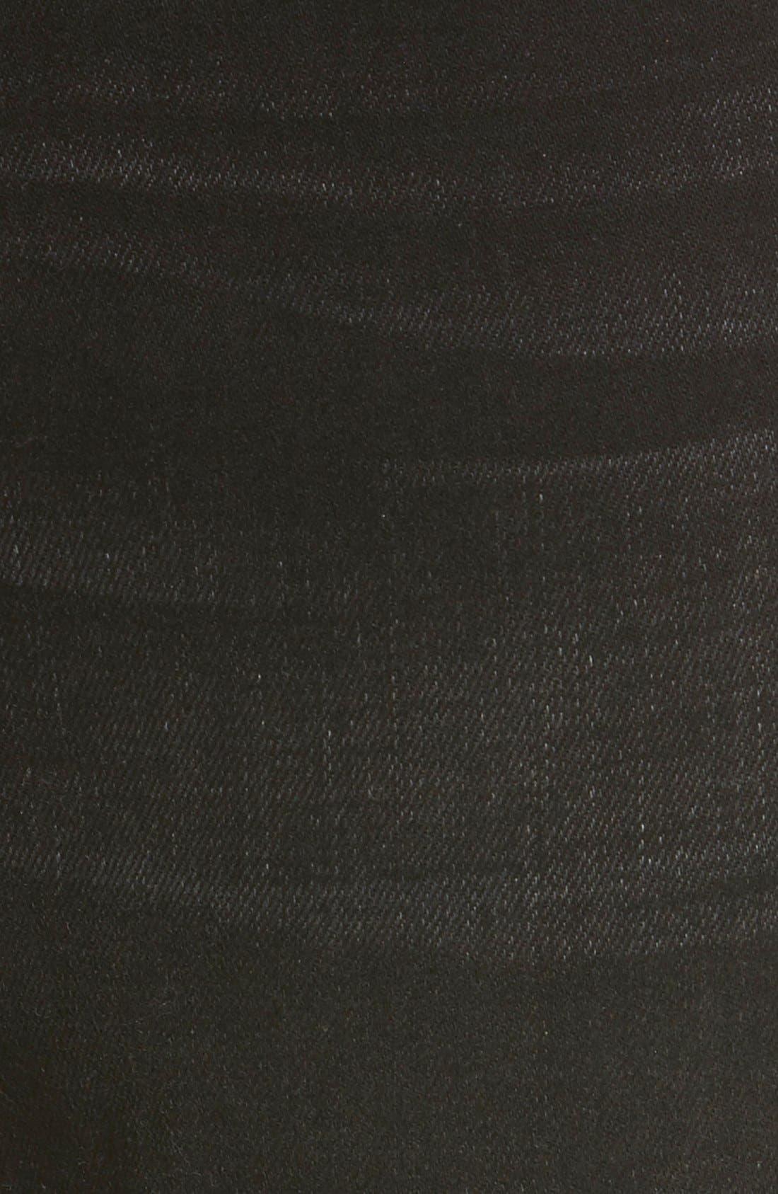 'L'Homme' Slim Fit Jeans,                             Alternate thumbnail 6, color,                             001