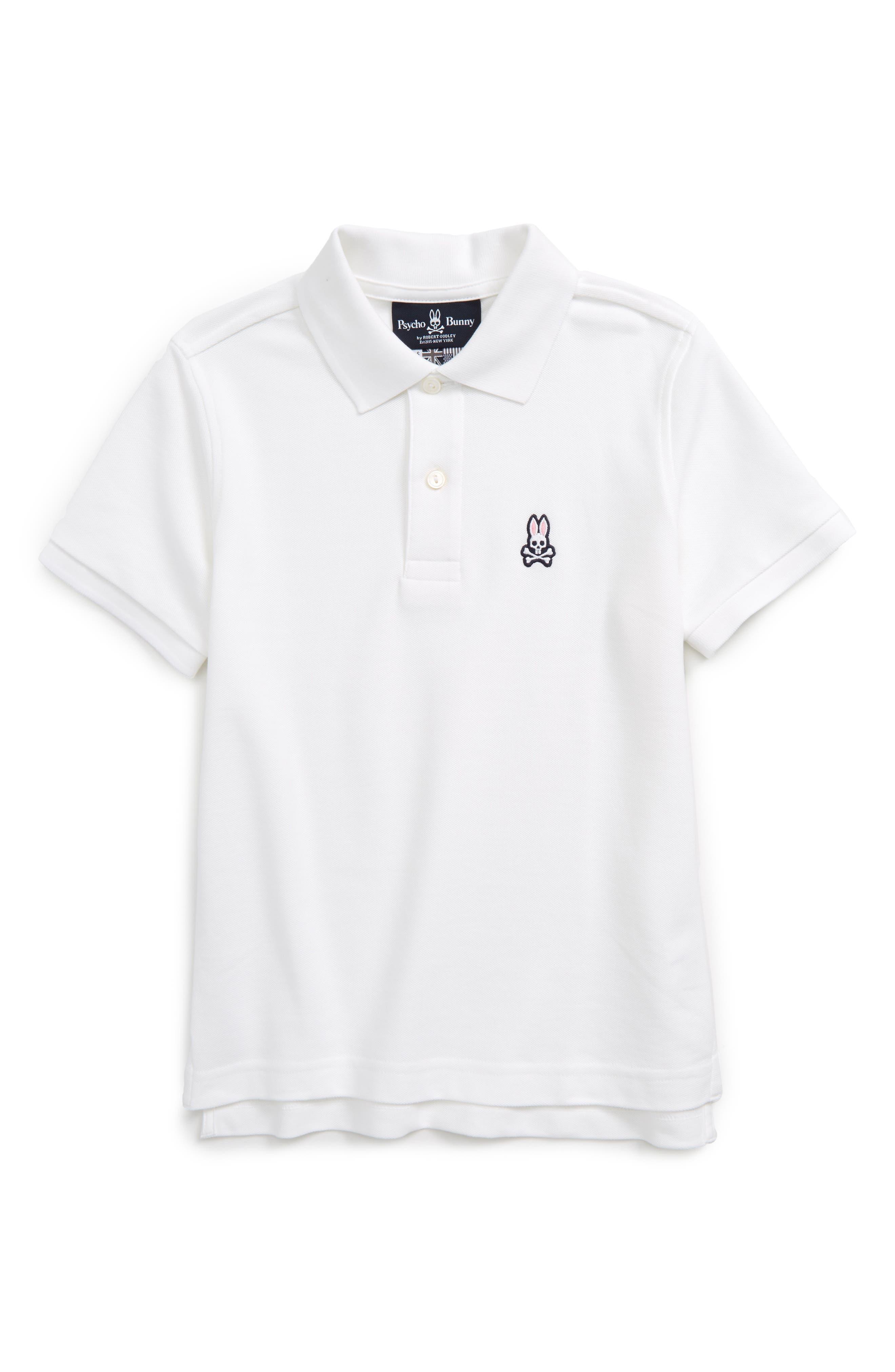 Classic Polo,                         Main,                         color, WHITE