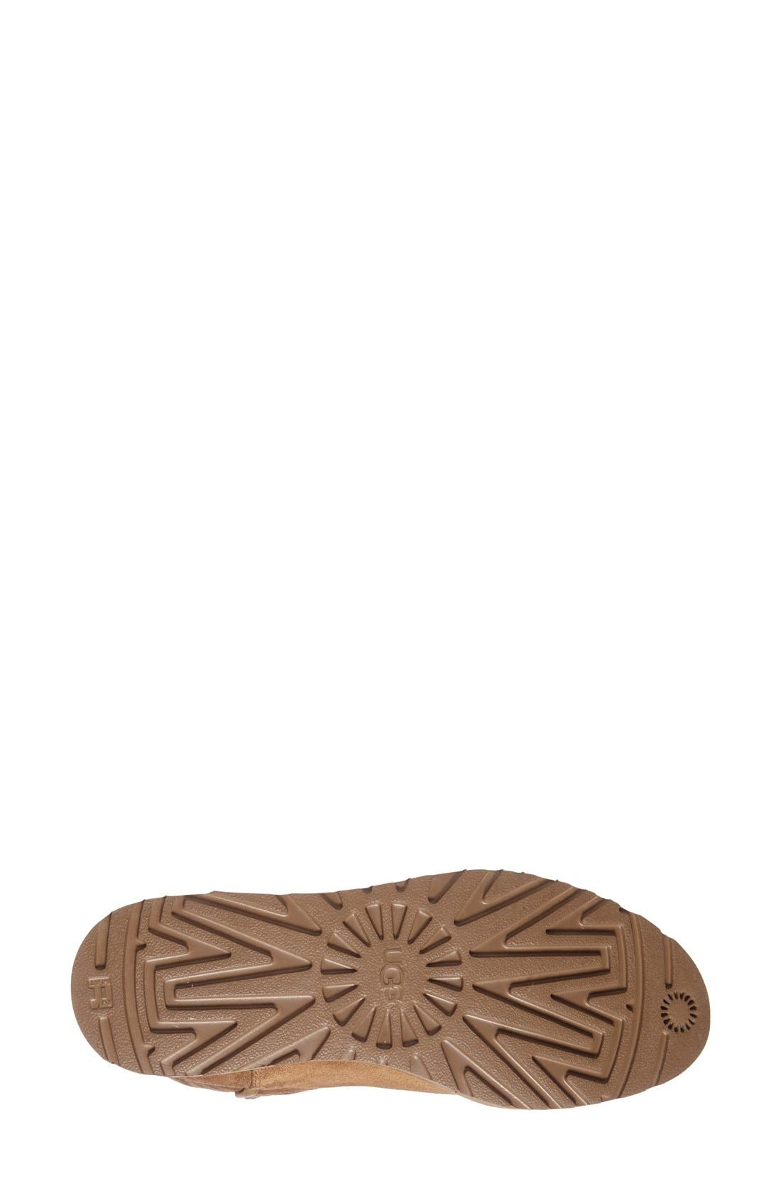 Amie - Classic Slim<sup>™</sup> Water Resistant Short Boot,                             Alternate thumbnail 2, color,                             CHESTNUT SUEDE
