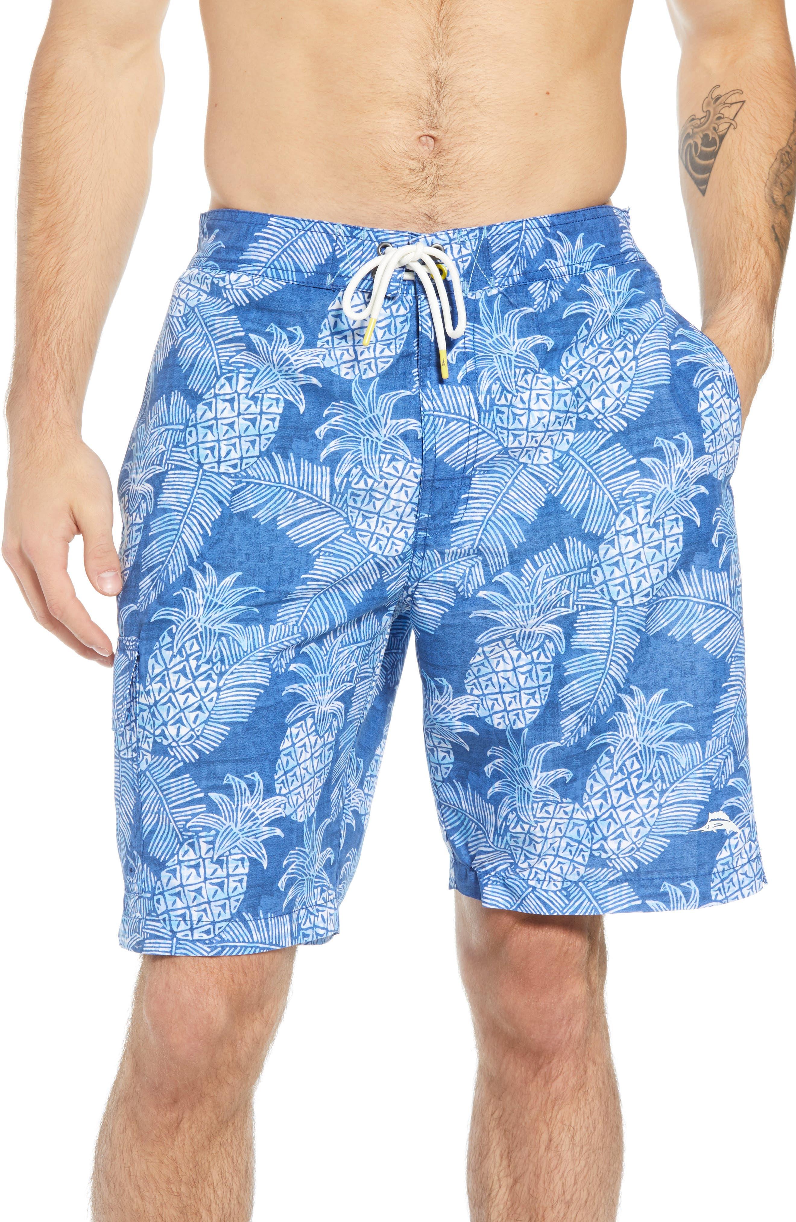 Paradise Around Board Shorts,                         Main,                         color, OCEAN DEEP
