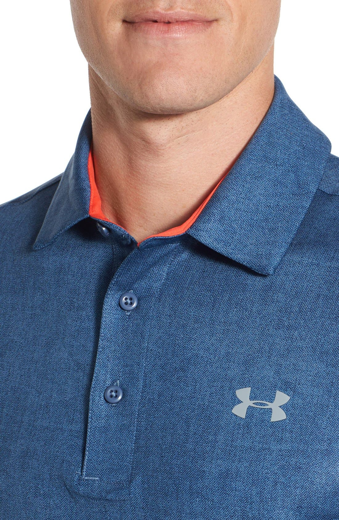 'Playoff' Loose Fit Short Sleeve Polo,                             Alternate thumbnail 160, color,
