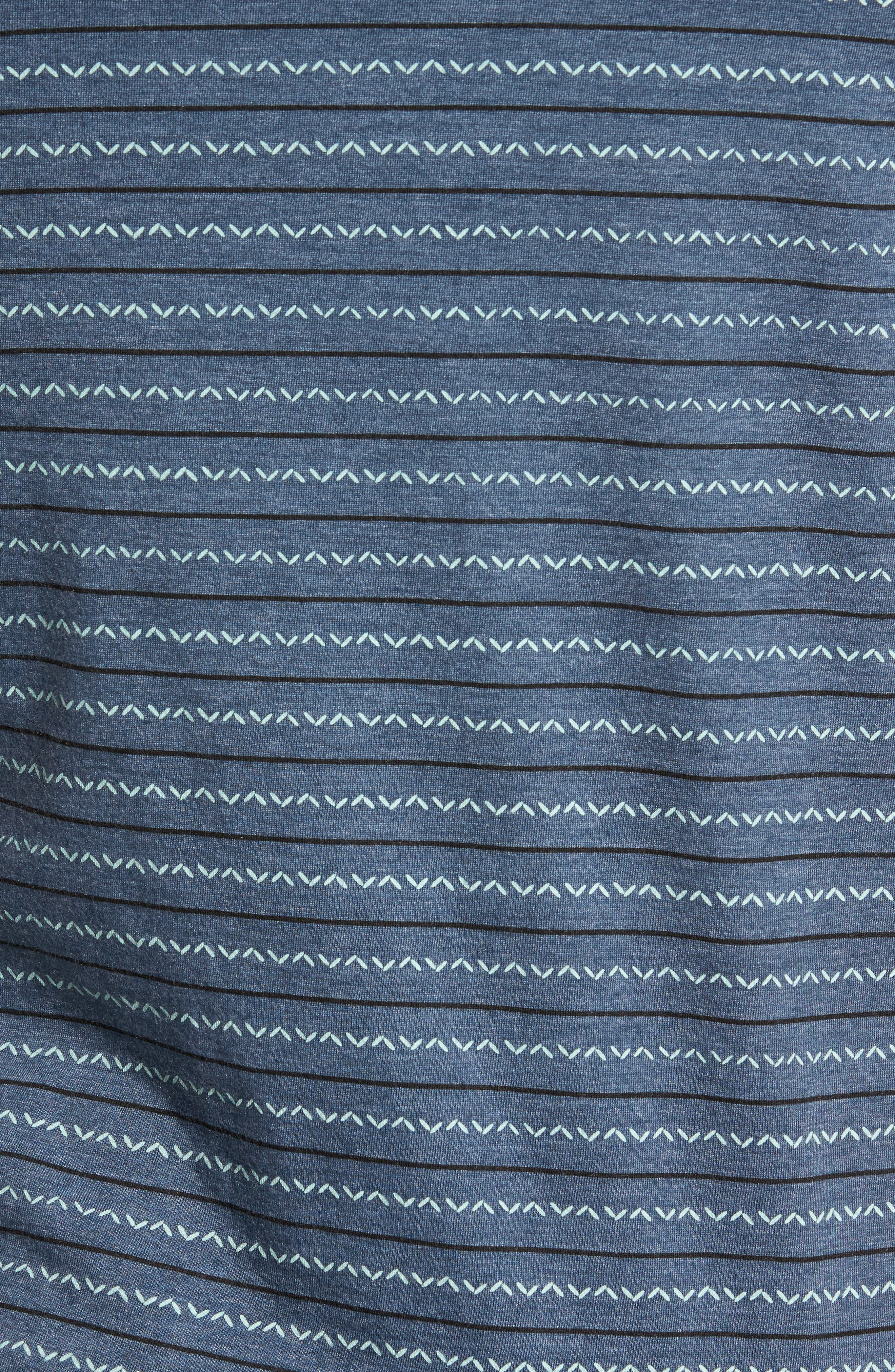 Chevron Stripe T-Shirt,                             Alternate thumbnail 10, color,