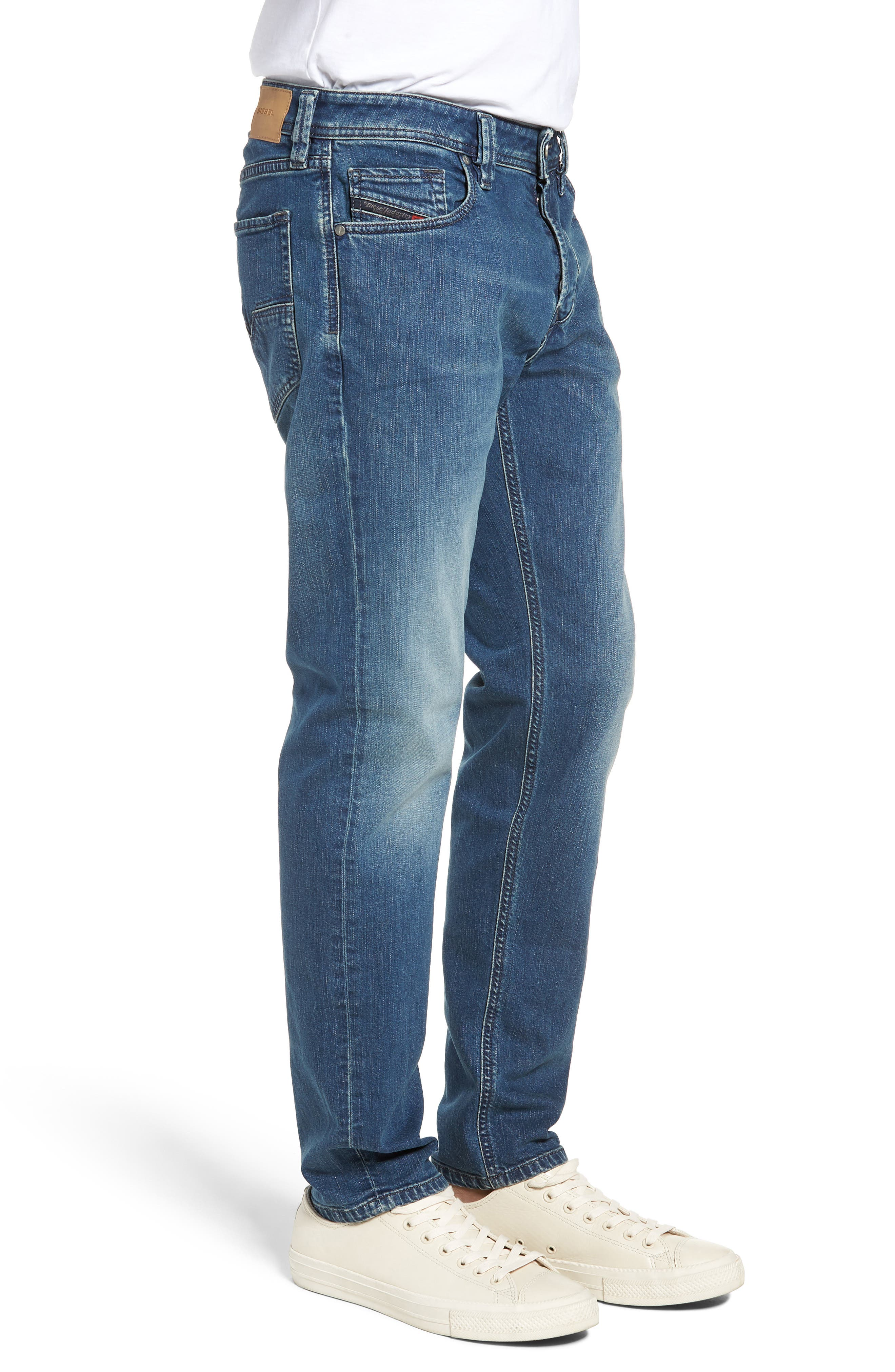Larkee Relaxed Fit Jeans,                             Alternate thumbnail 3, color,                             400