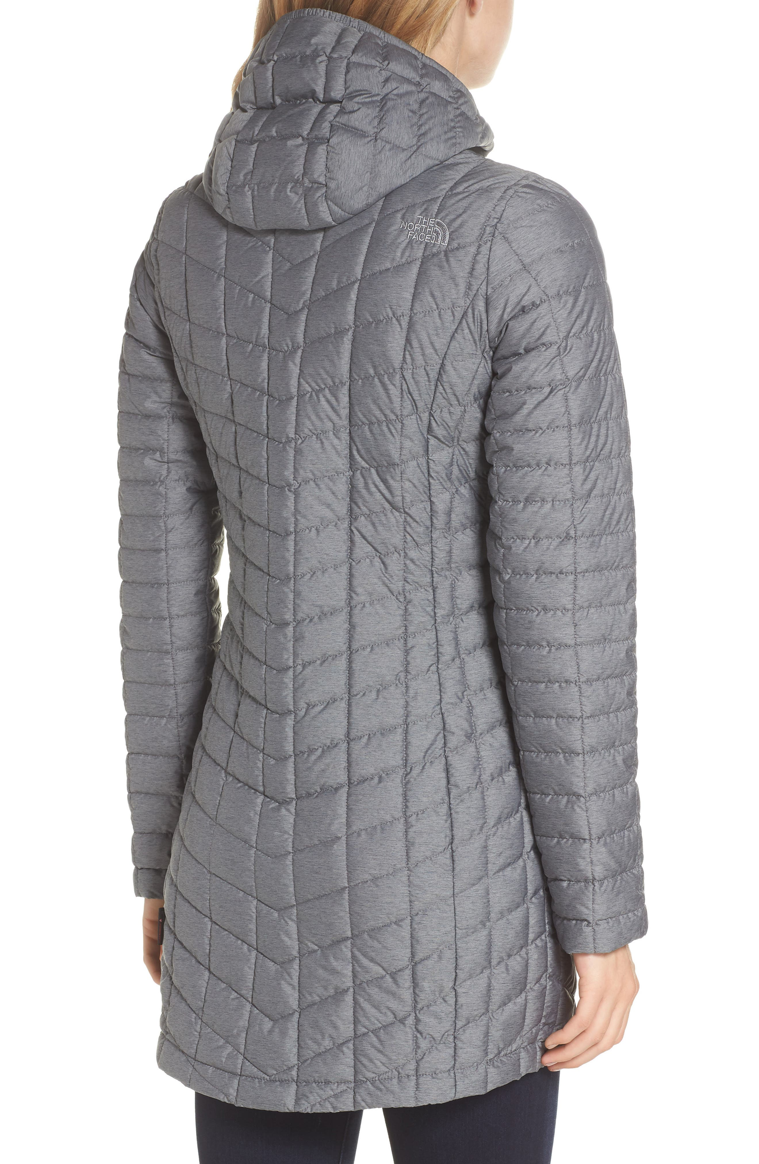 THE NORTH FACE,                             ThermoBall<sup>™</sup> Insulated Hooded Parka,                             Alternate thumbnail 2, color,                             033