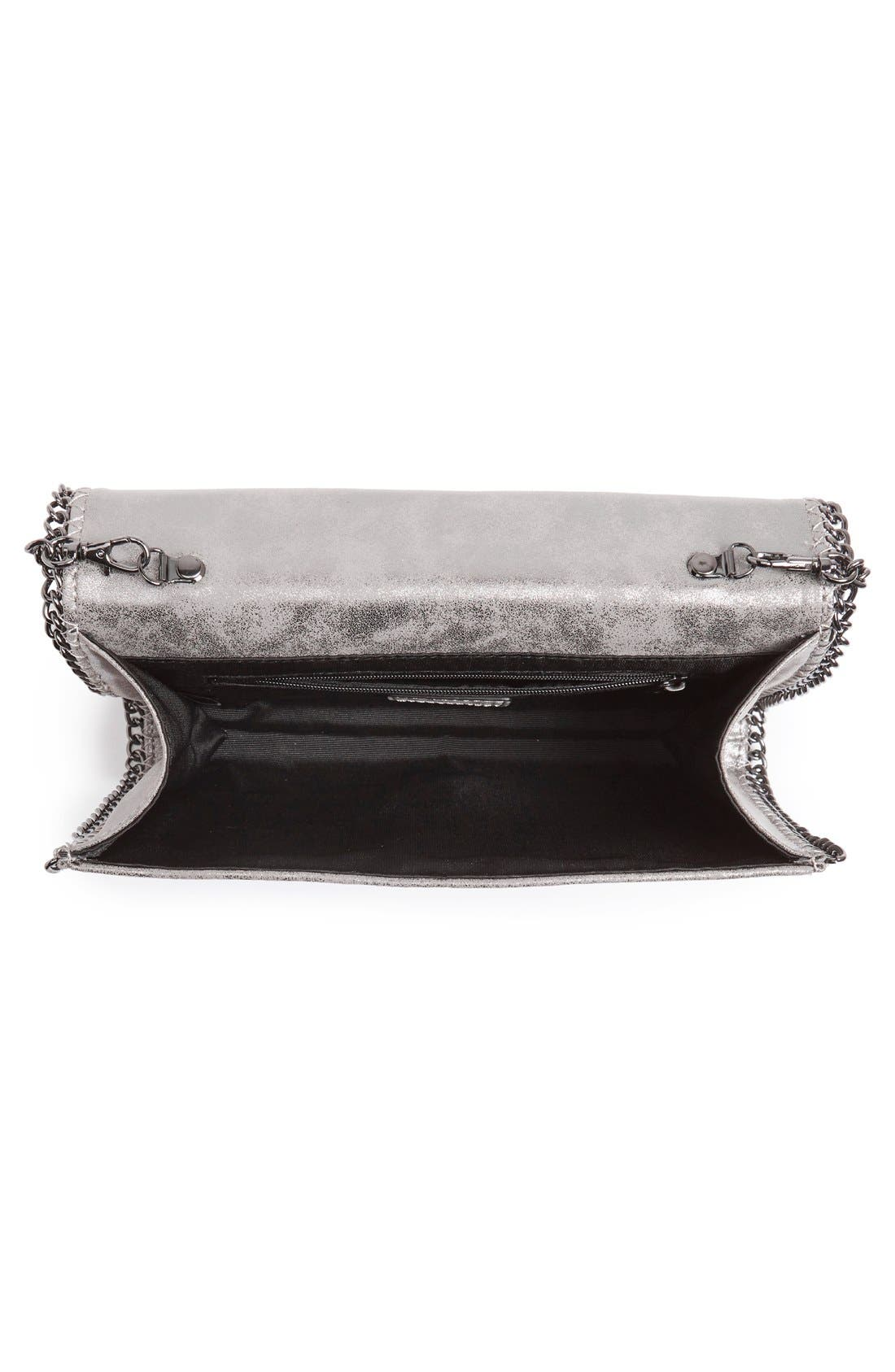 Faux Leather Crossbody Clutch,                             Alternate thumbnail 31, color,