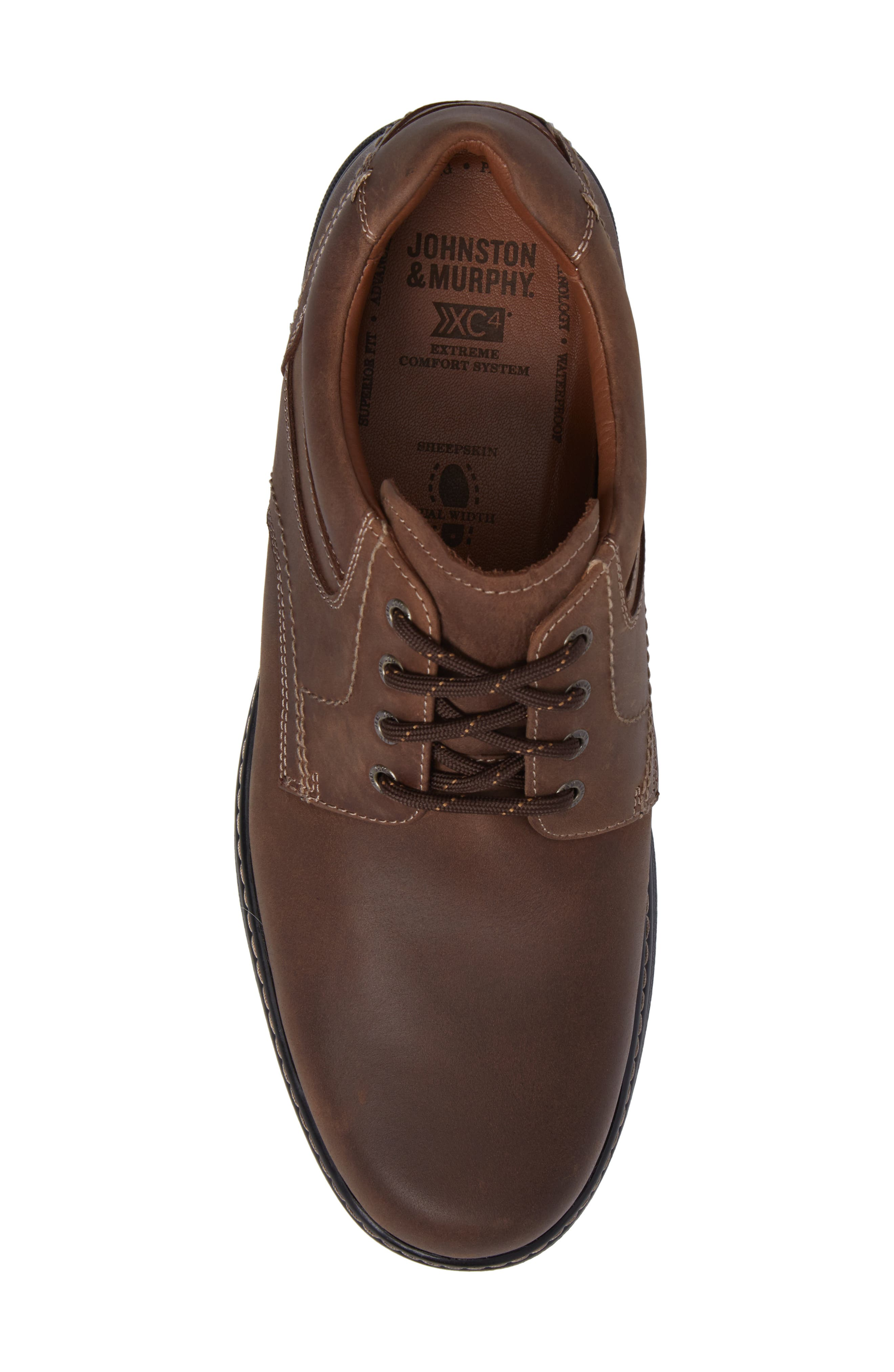 Windham Waterproof Plain Toe Derby,                             Alternate thumbnail 5, color,                             TAN