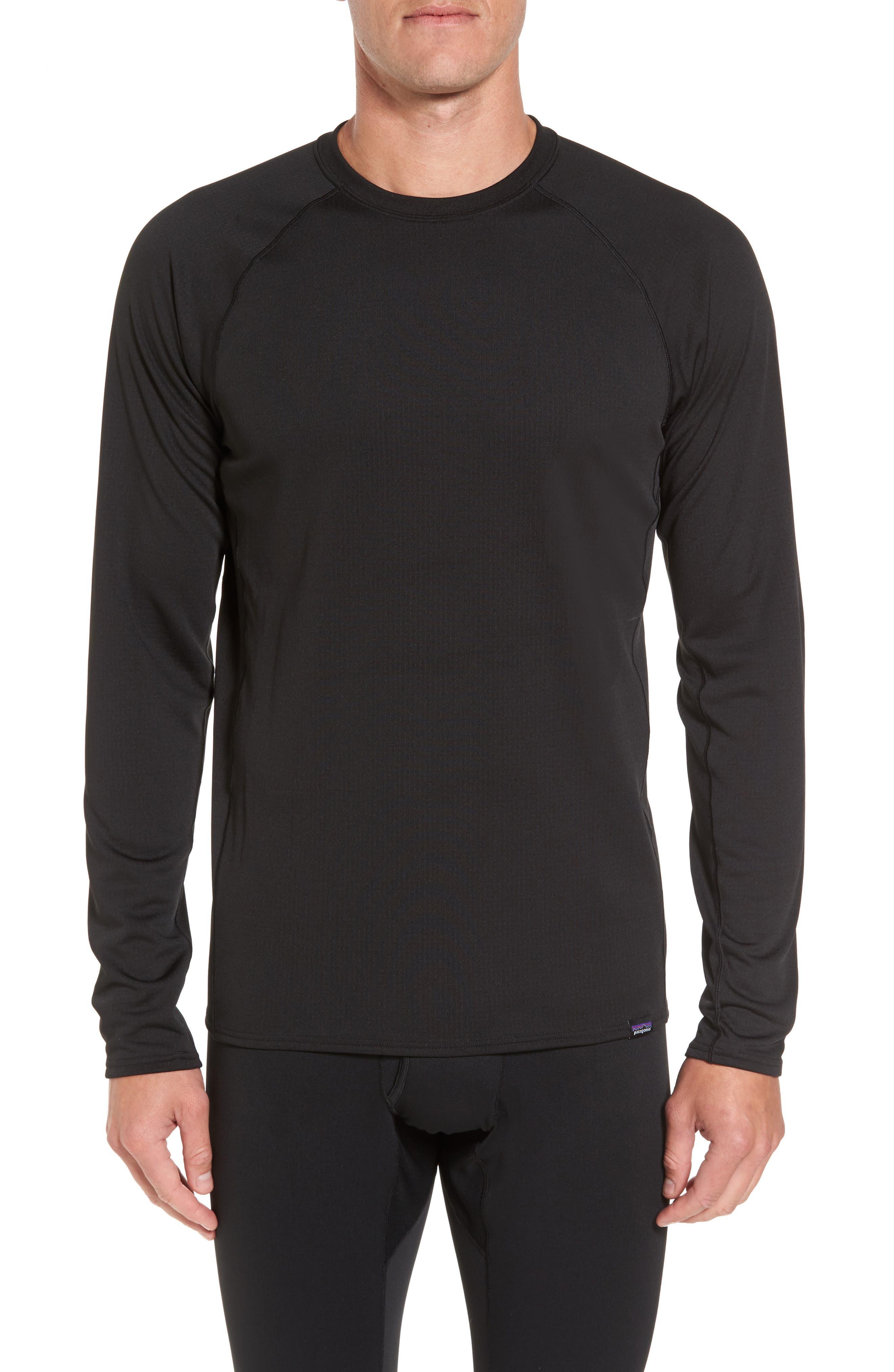 Capilene Midweight Base Layer T-Shirt,                             Main thumbnail 1, color,                             001