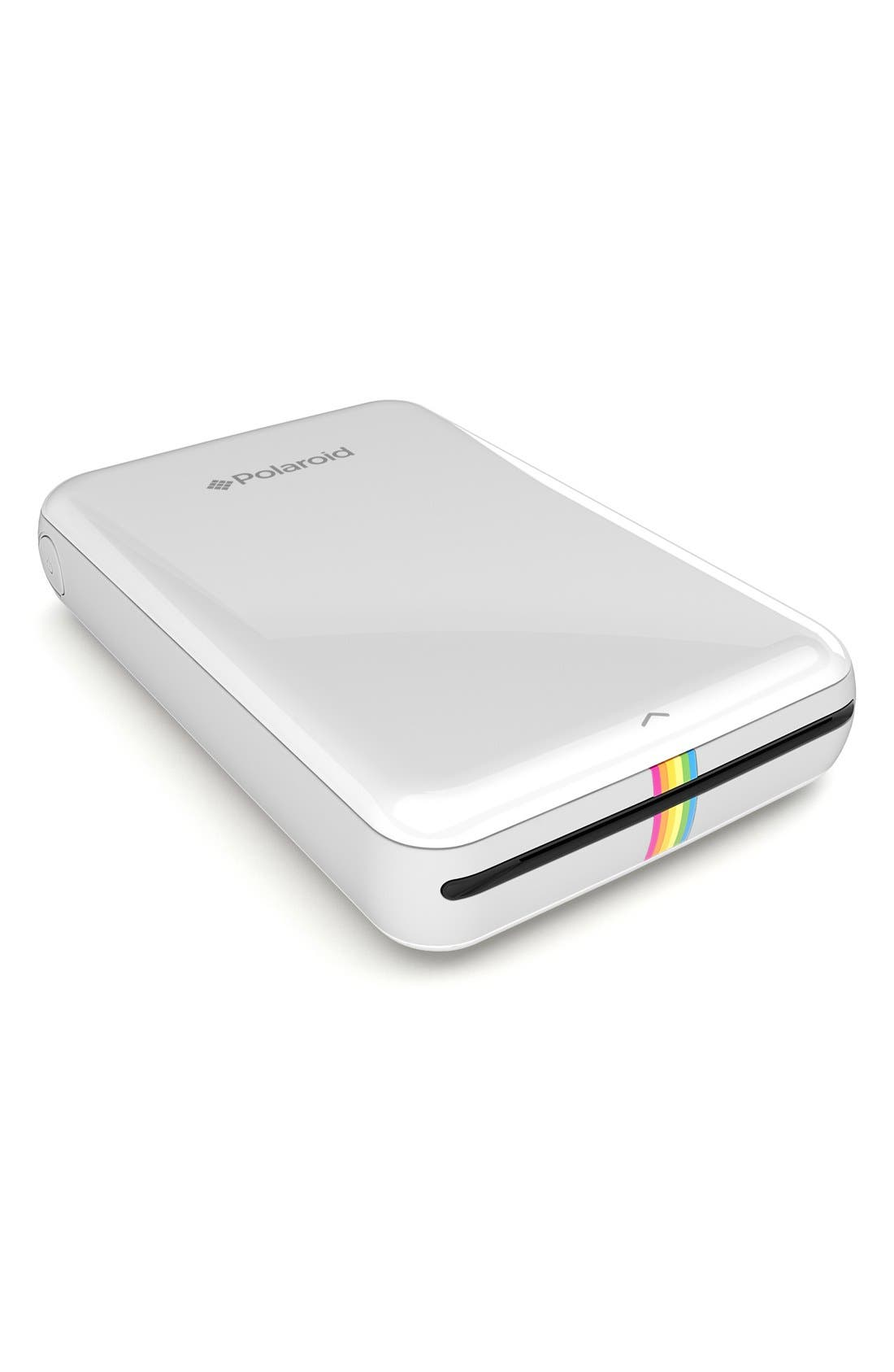'Zip' Mobile Instant Photo Printer,                             Alternate thumbnail 4, color,                             100