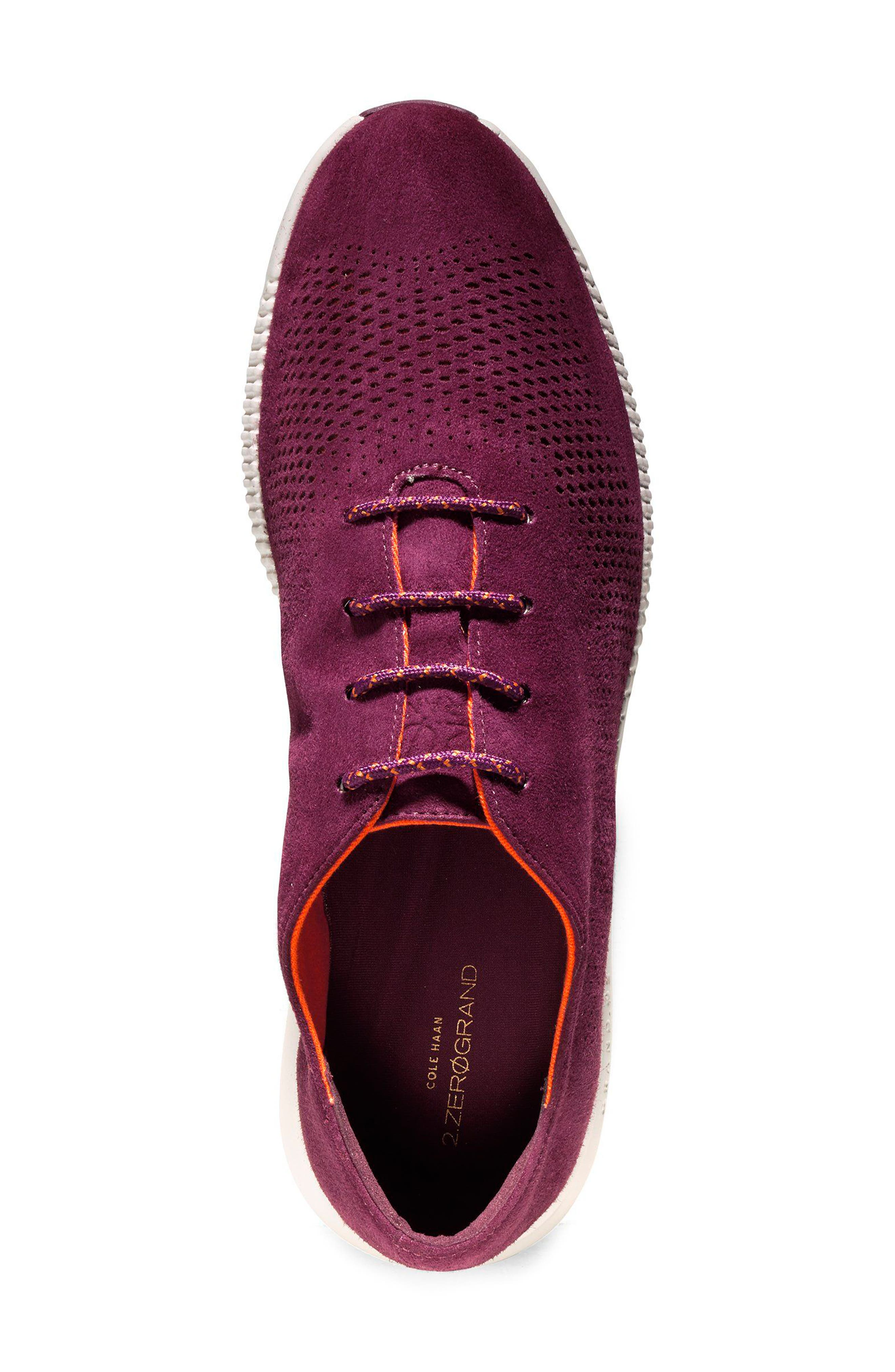 'ZeroGrand' Perforated Wingtip,                             Alternate thumbnail 122, color,