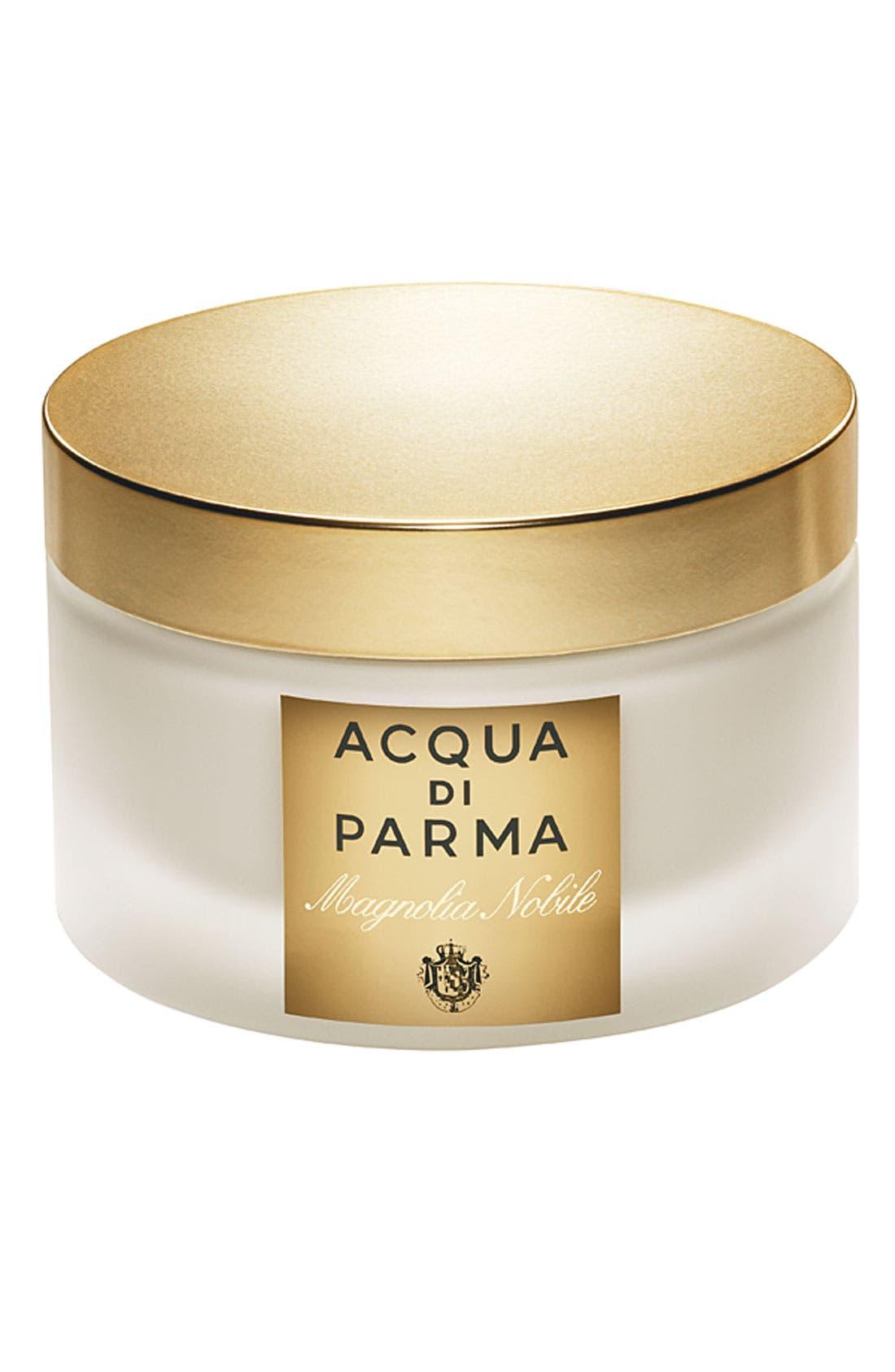 'Magnolia Nobile' Body Cream,                             Main thumbnail 1, color,                             000